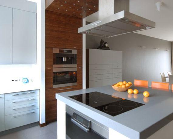 Kuchnia we wnęce jest bardzo ergonomiczna