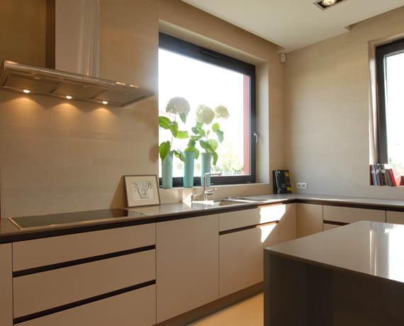 Zaprojektowane na wymiar meble kuchenne