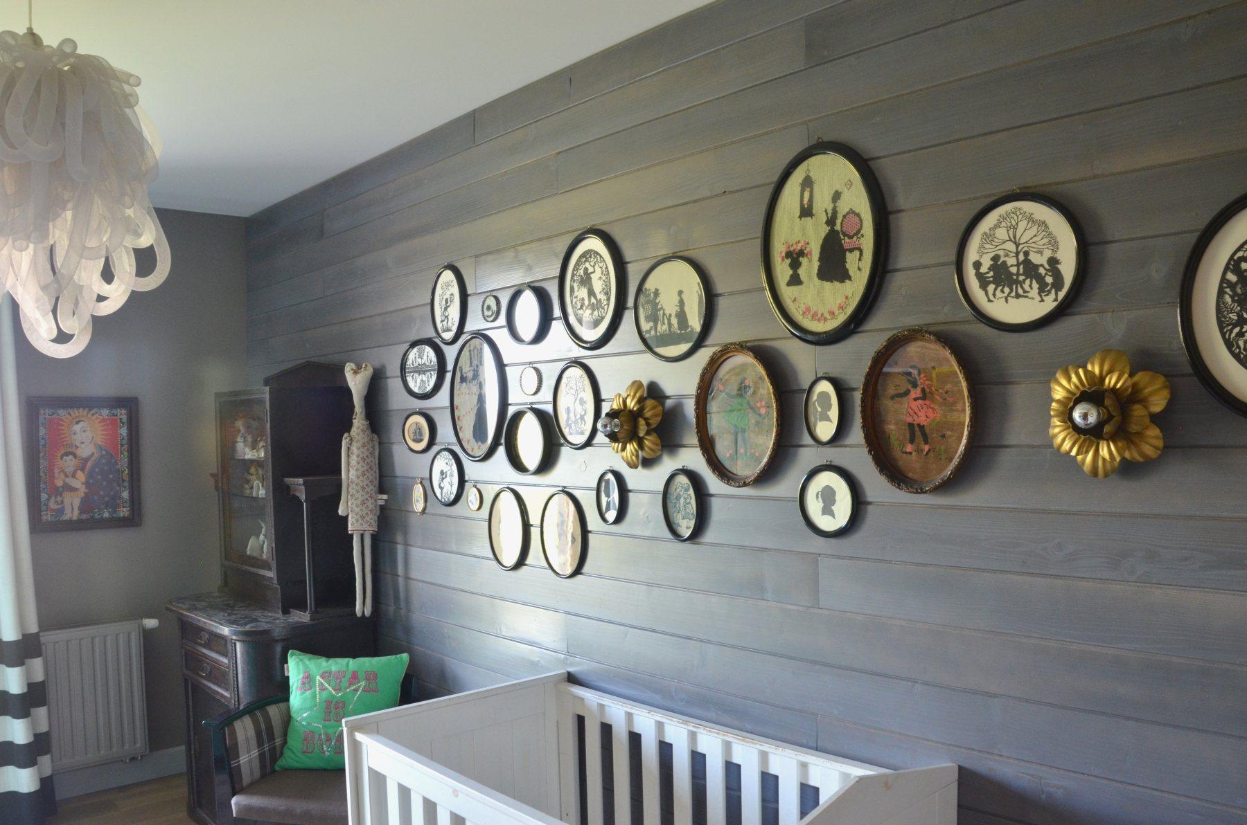Dekoracje na ścianie - deskowanie