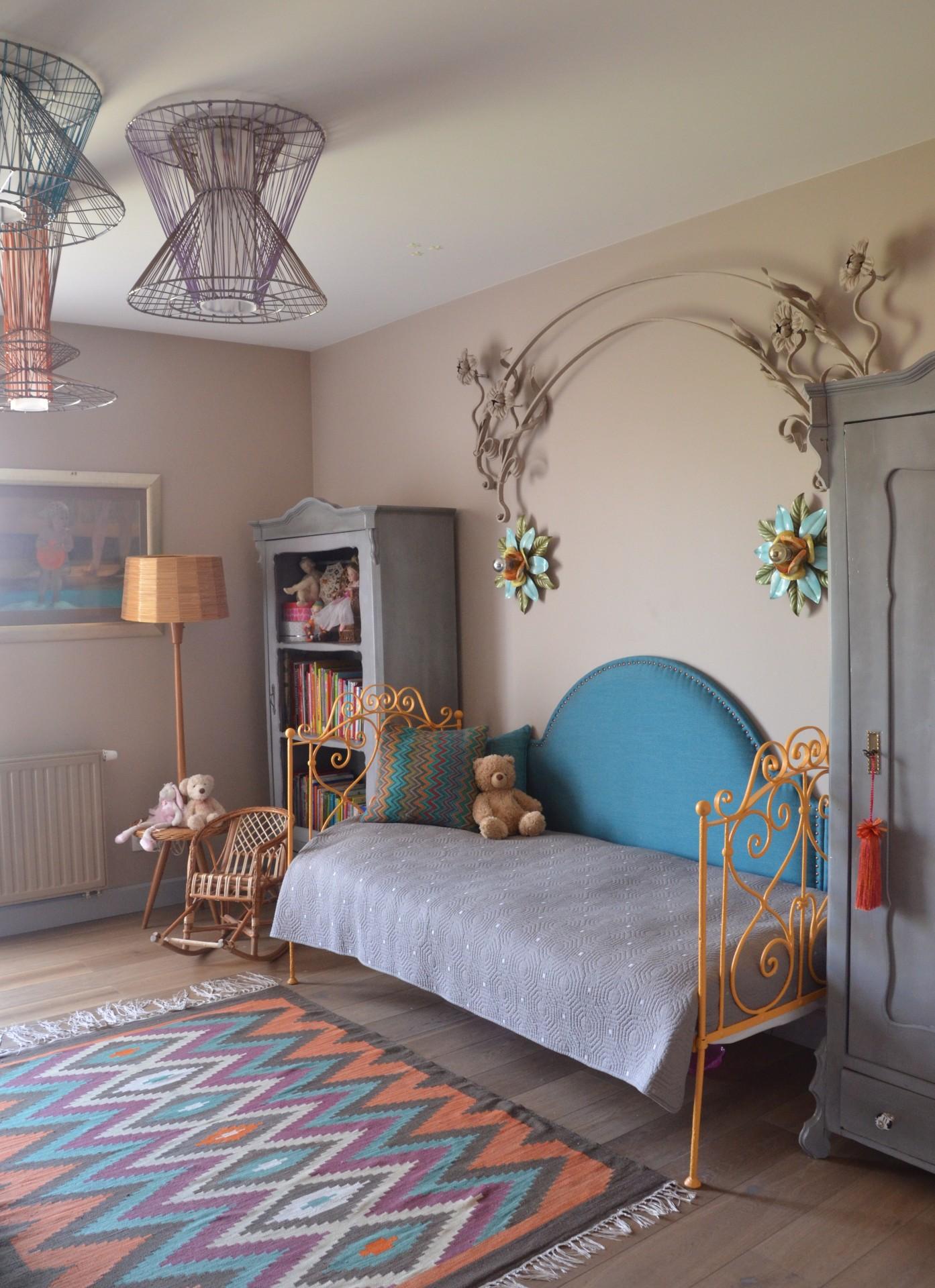 Barwny pokój dziewczynki