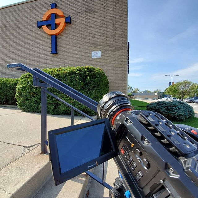 Great day to film some exterior shots!