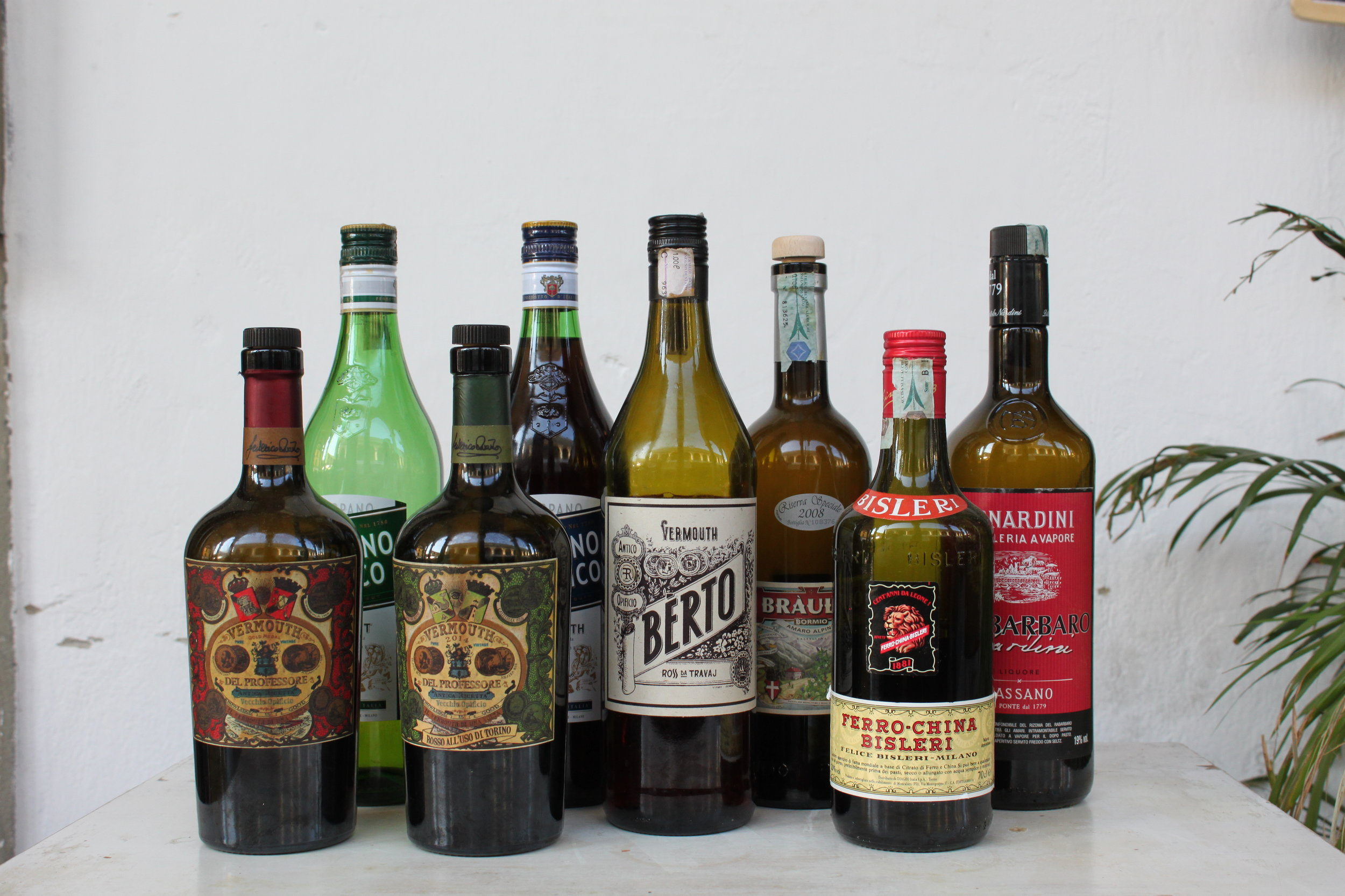 the best of Italian craft vermouths and digestivi- crucial for stellar drinks