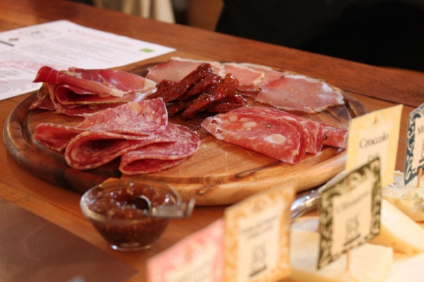 Food pairings a requirement on all our tours