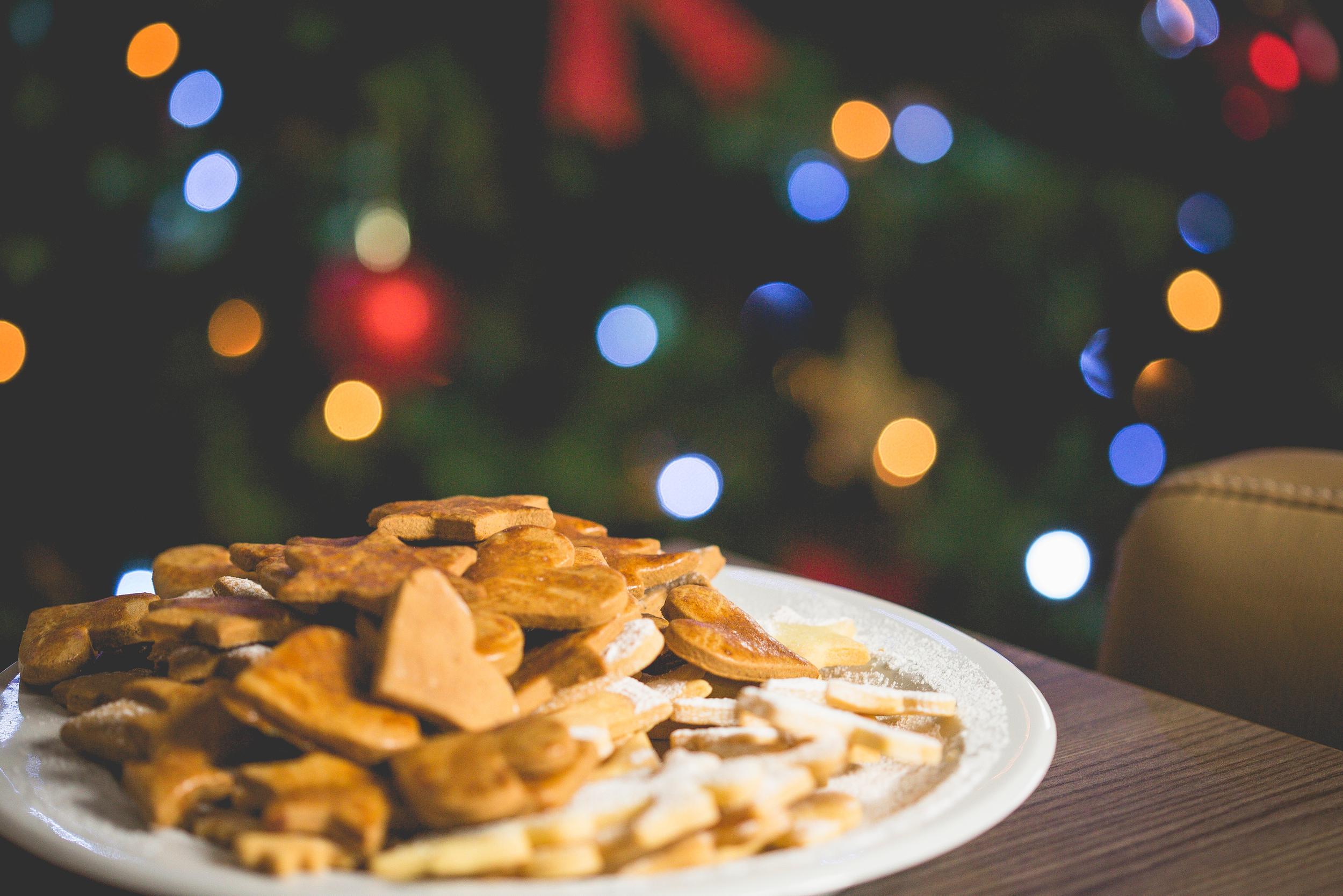 Christmas Lights and Cookies
