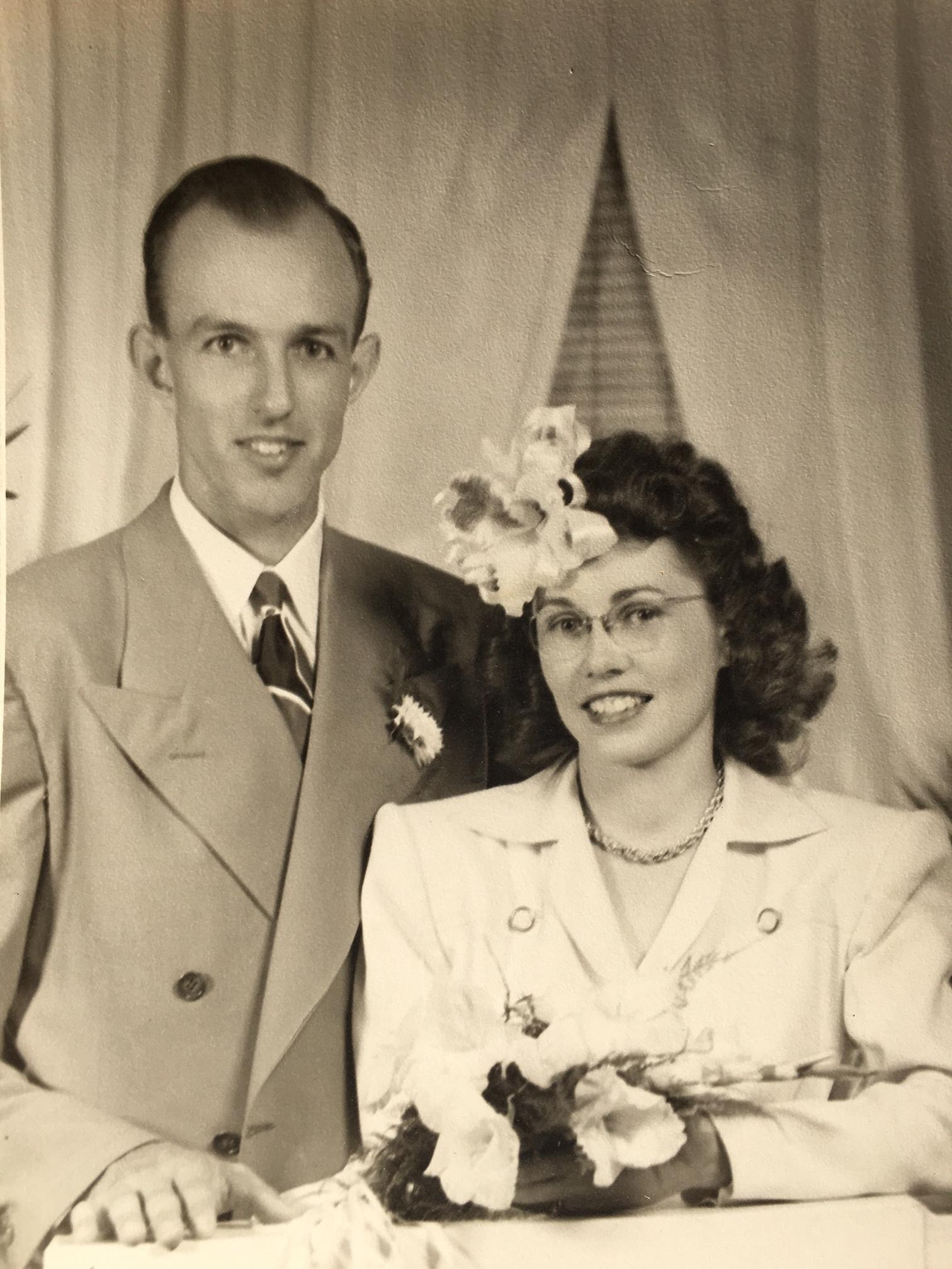 Robert and Ruth Hoshaw - photo courtesy of Stephanie McInroy