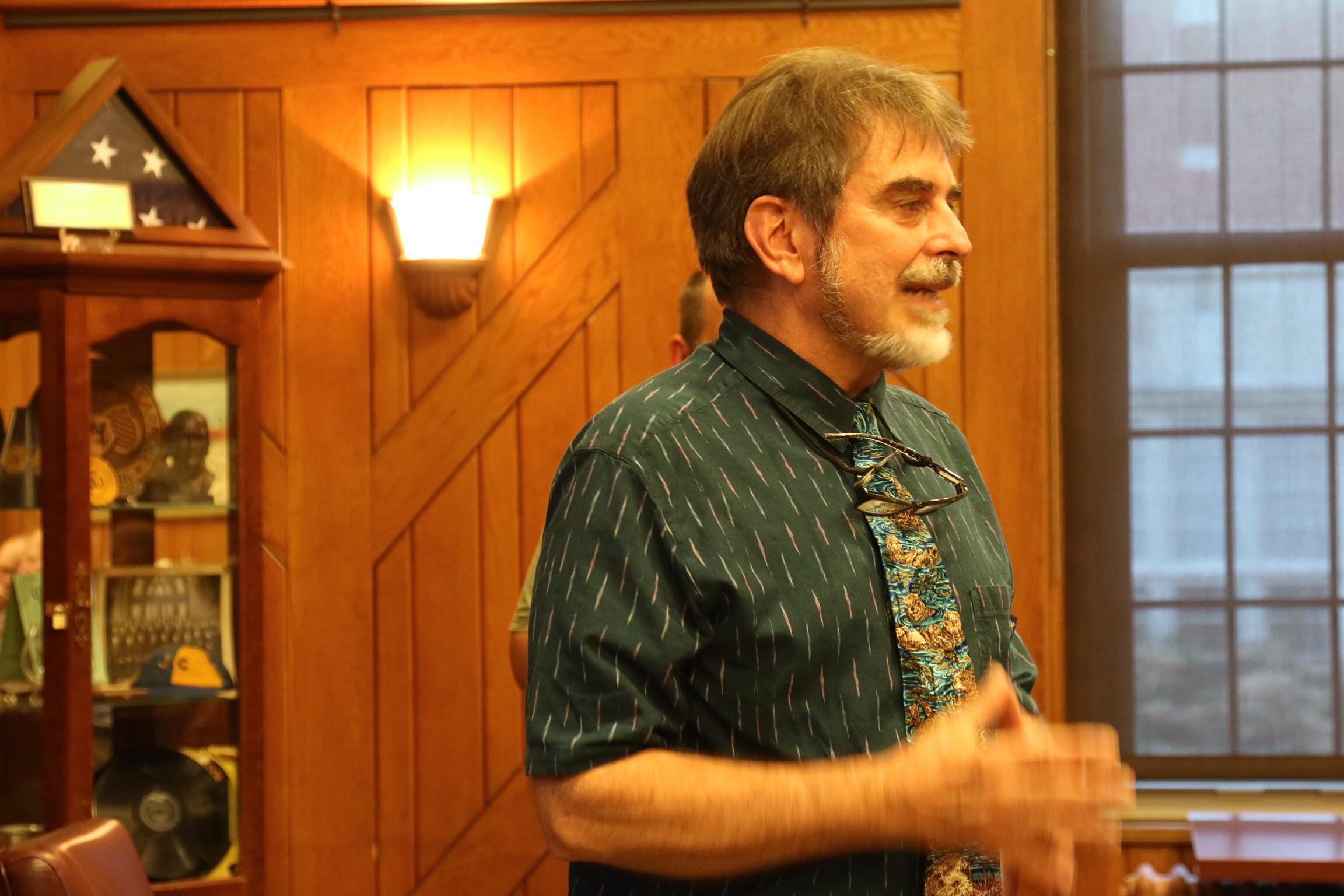 PSA President, Paul Gabrielson