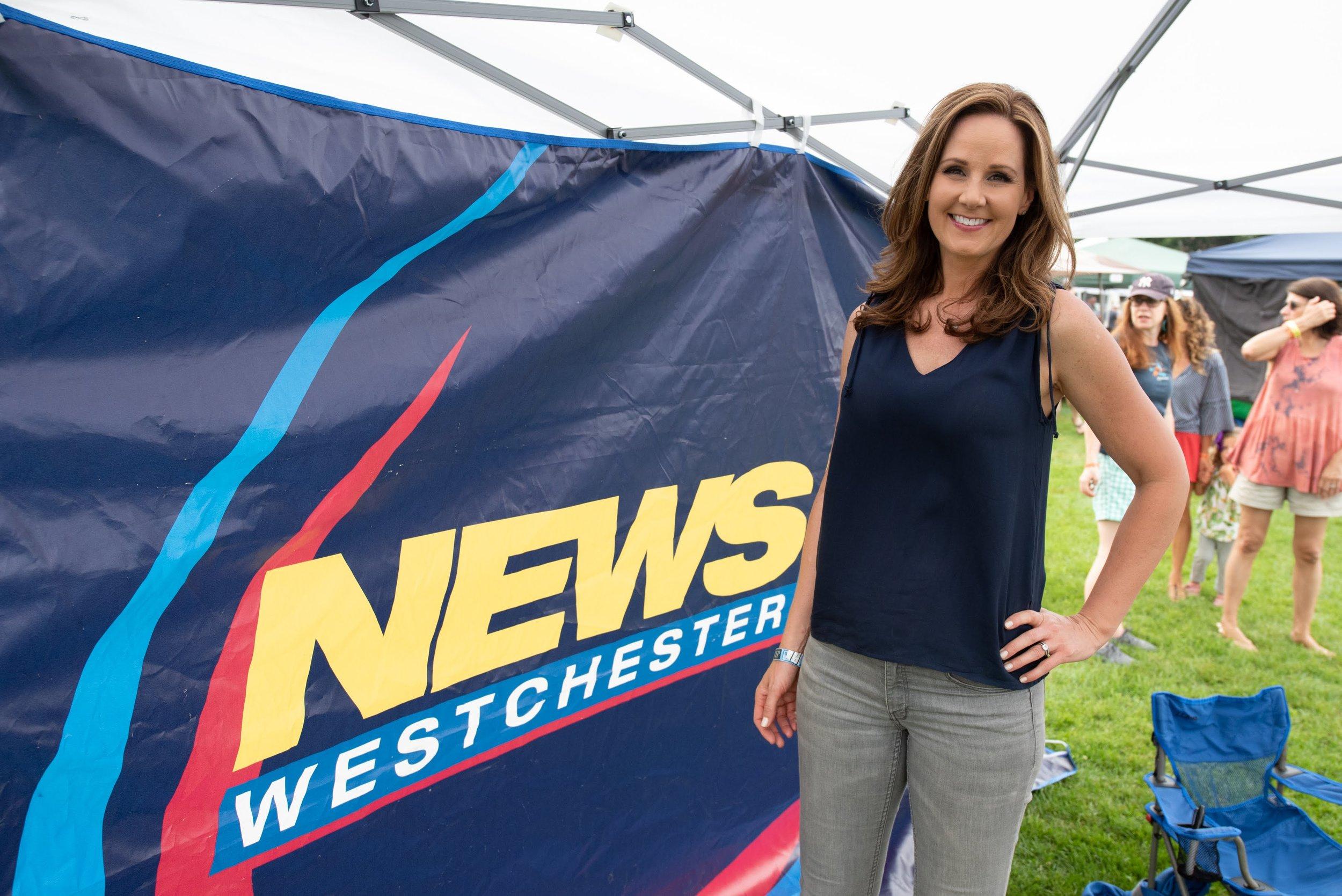 Lisa Salvadorini of News 12 knows the story © Lynda Shenkman