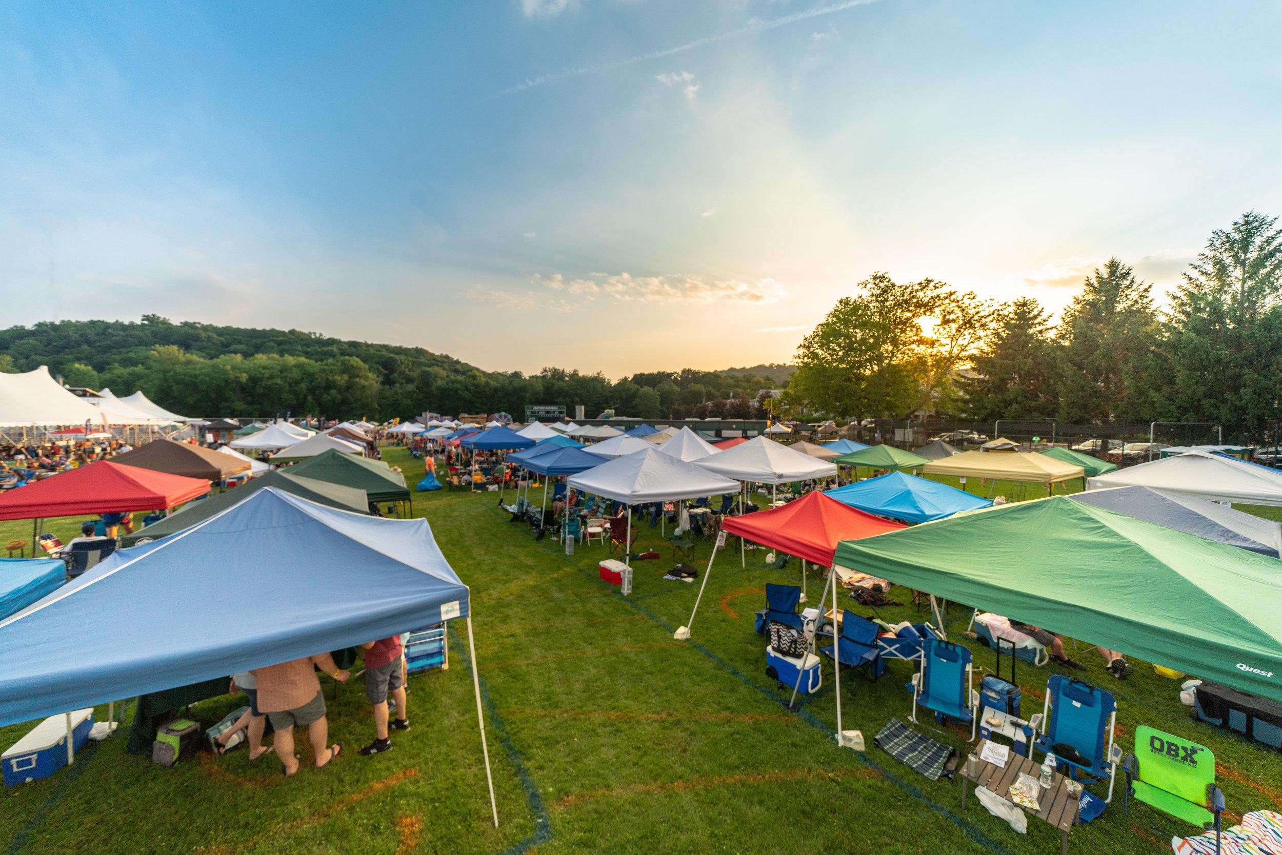 Tent City lookin' good © 2018 Jonathan Cunningham