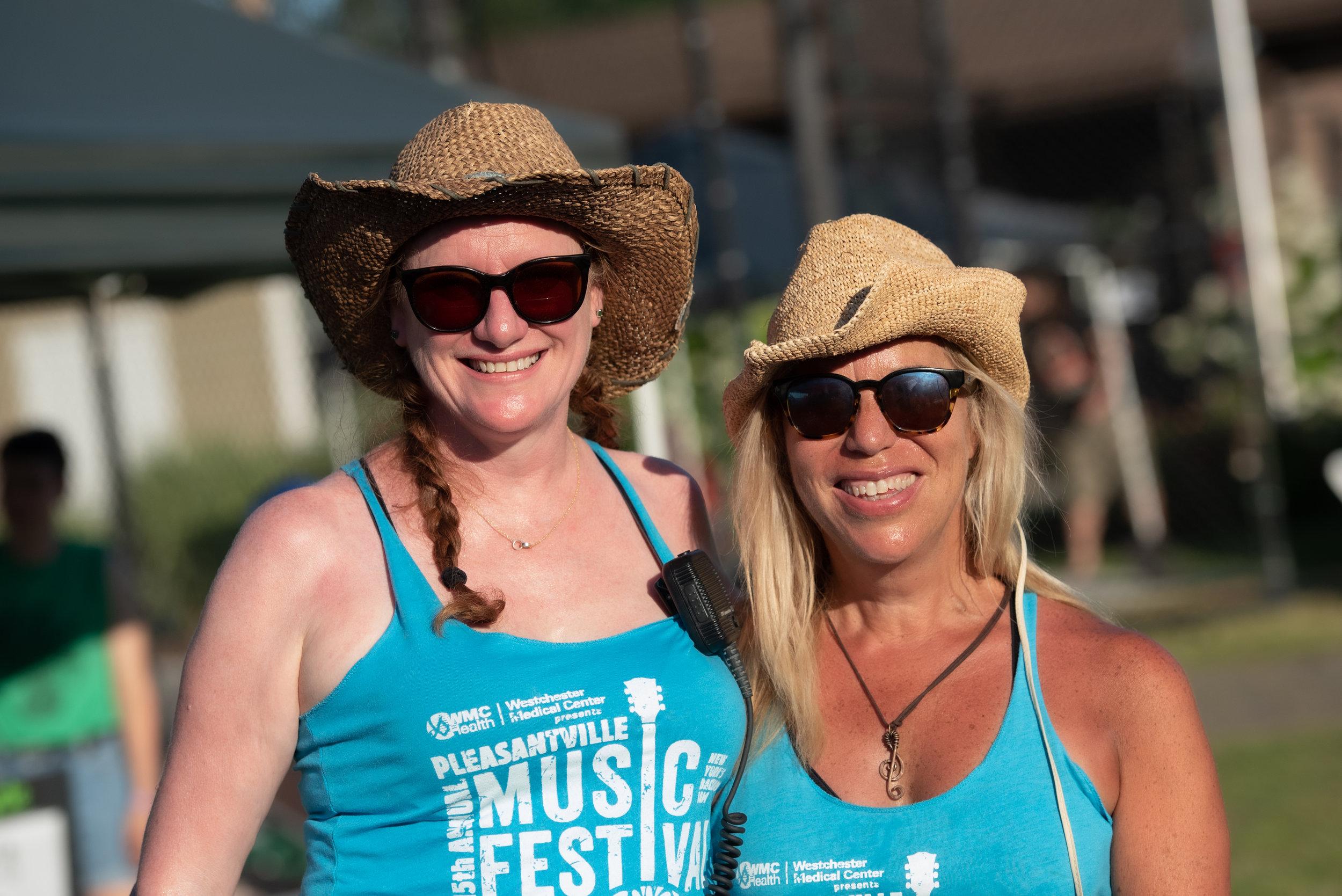 "Amazing organizers Carolyn Bihl and Pam ""Pamnation"" Condron © 2019 Lynda Shenkman"
