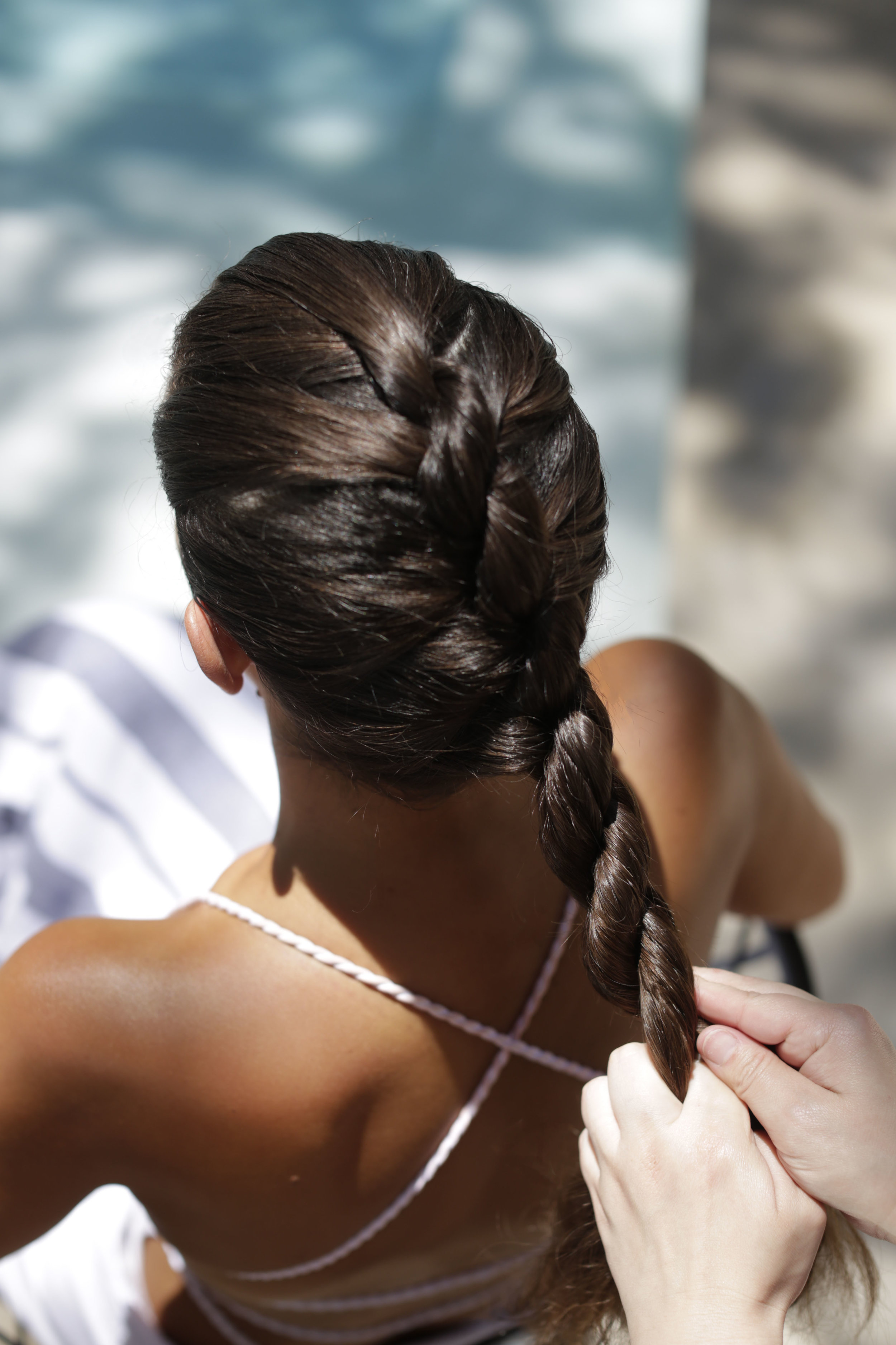 - The braid should begin to look like a rope (yea!)