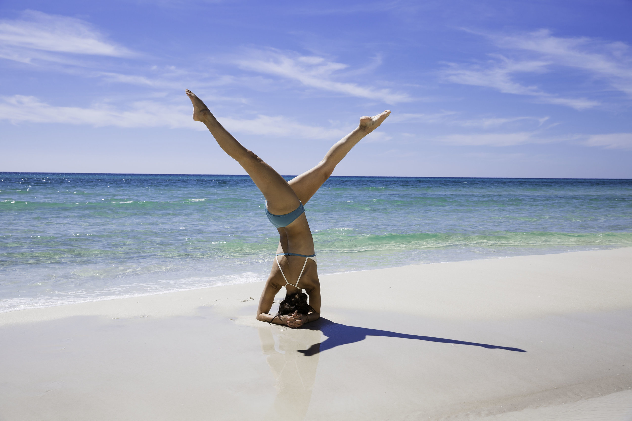 Revolved Headstand -