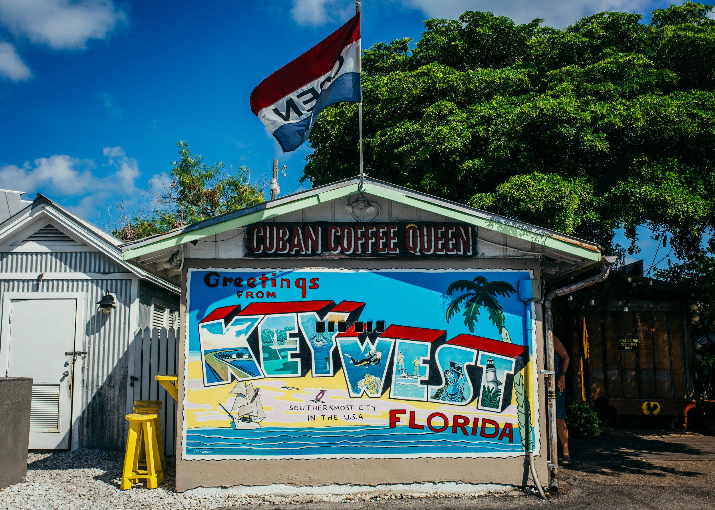 blog key west lena perkins, cuban coffee queen, postcard mural.jpg