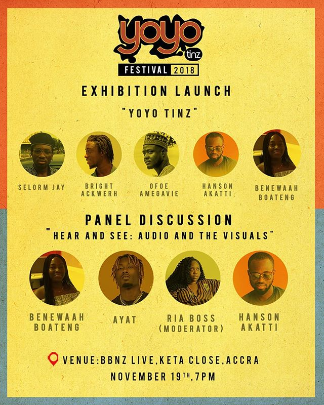 """Tonight I have the honor of moderating a panel discussion on the launch night for the @yoyotinzfestival. The panel, """"Hear and See: Audio and The Visuals"""" what does our desired medium say about our message?    Join us tonight at BBnZ Live   7pm"""