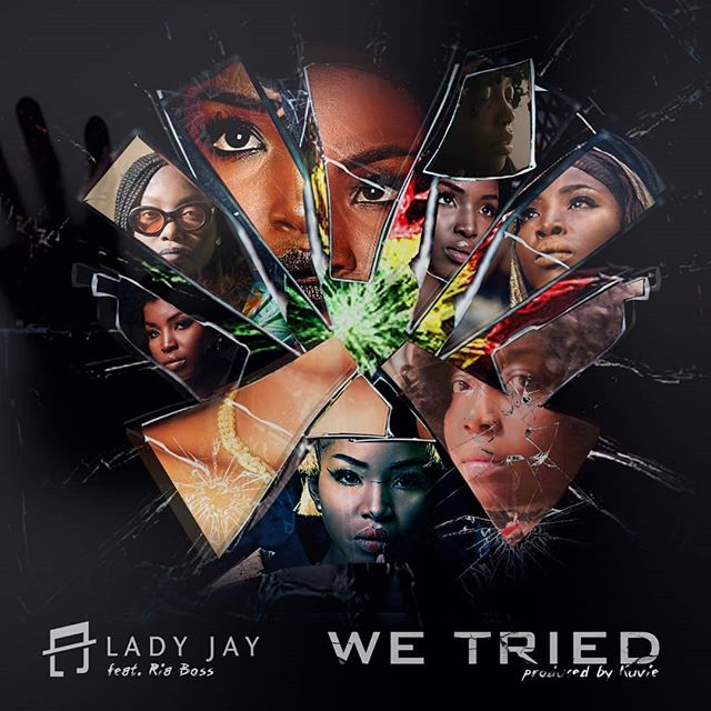 Work with people you love   #WeTried with @ladyjaylives produced by @kuvie_   28/12/2018   @wahalaentertainment