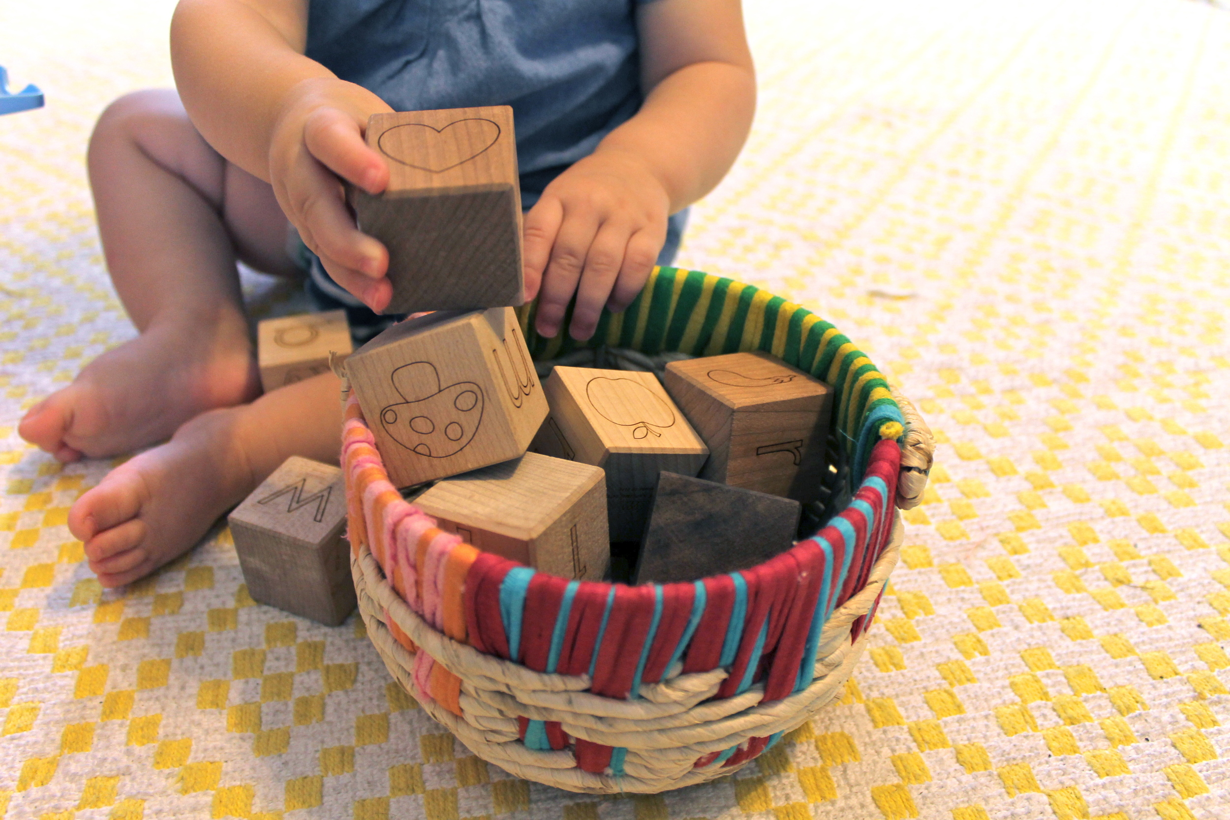 favorite baby products | Little Sapling Toys wooden blocks