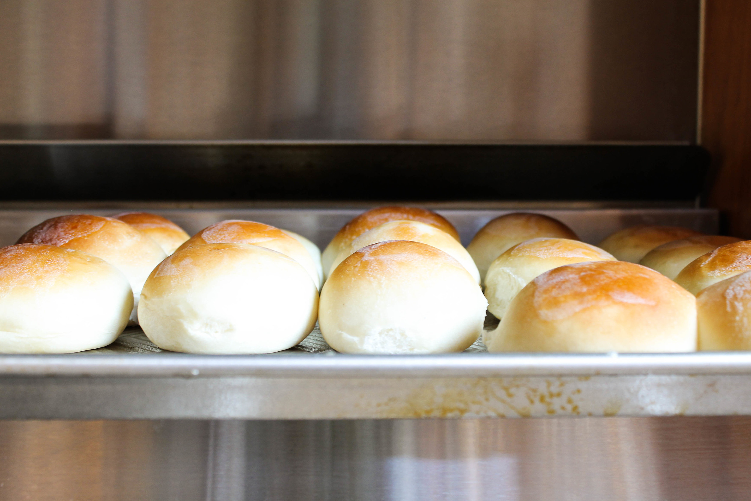homemade bread rolls