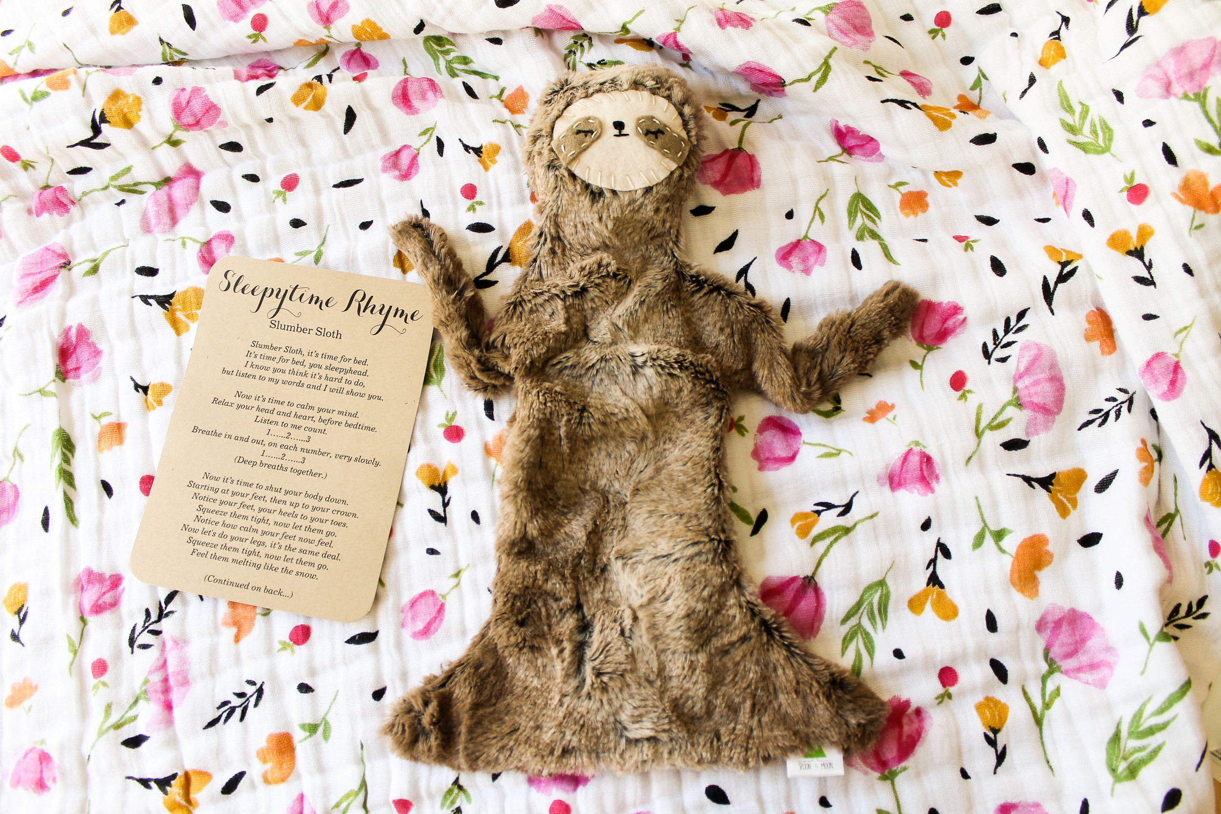 favorite products for second baby   Slumber Sloth by Spoon and Moon
