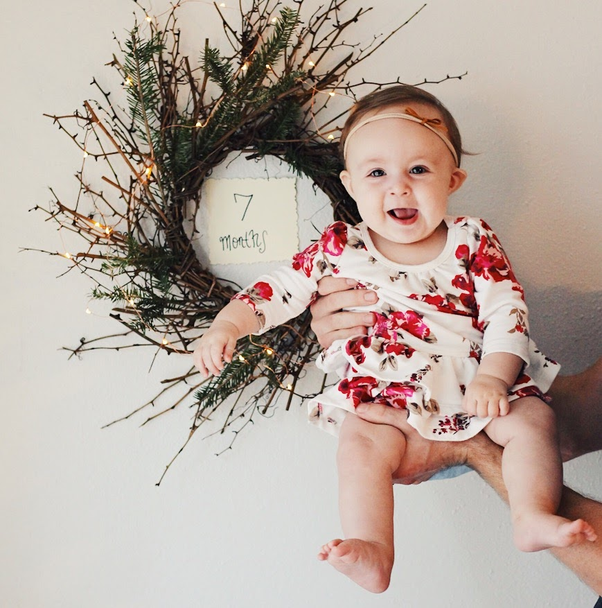 Eleanora, 7 months   Feathers and Roots
