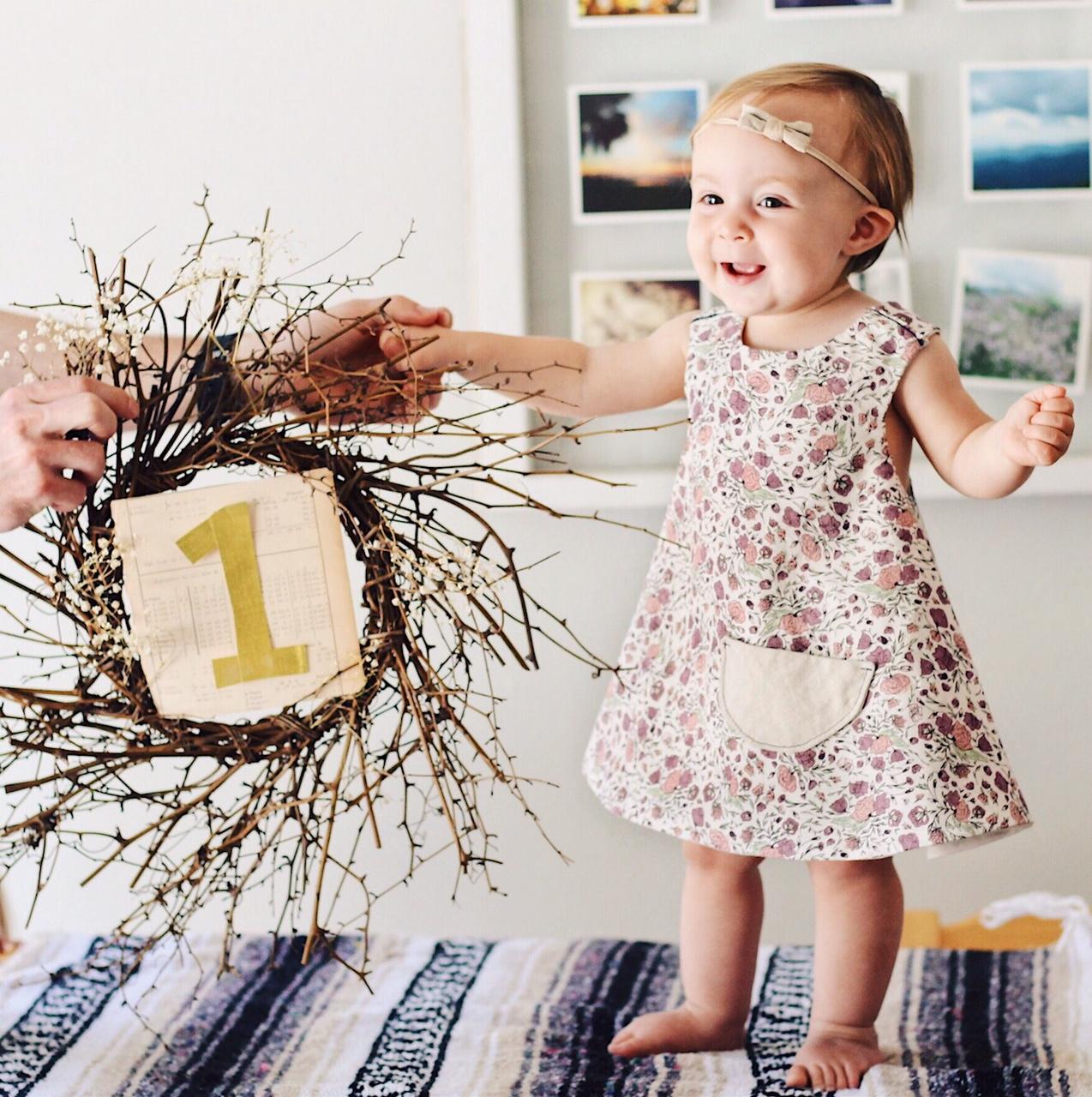 Eleanora's first birthday