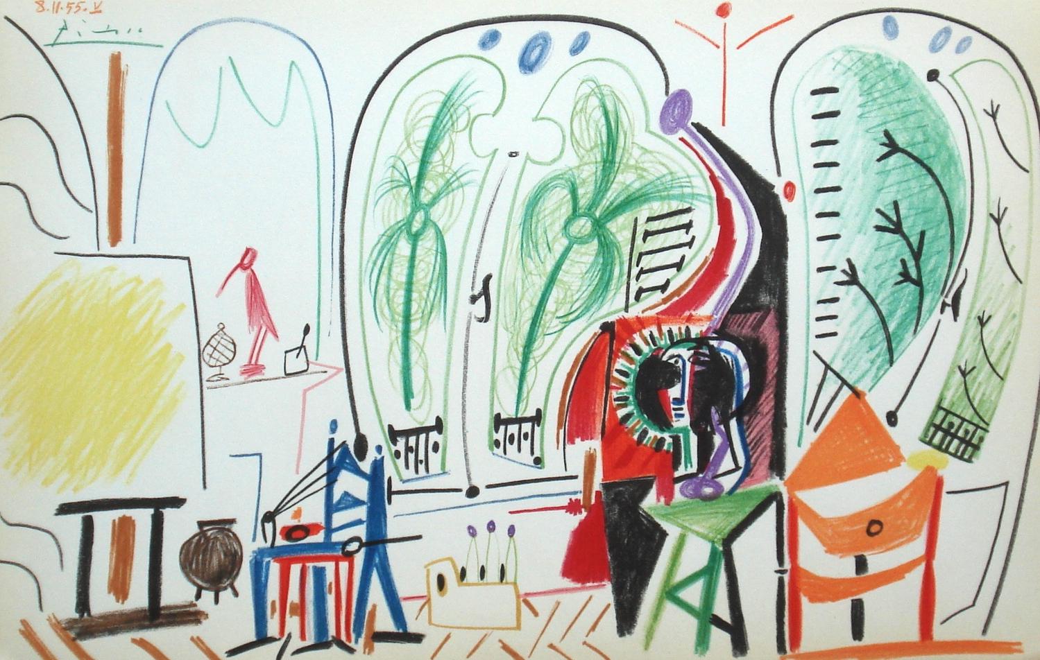 Year: 1960 Medium: Lithograph Image size: 11 x 17