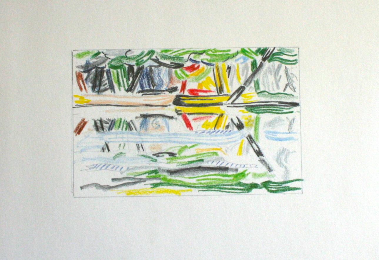 Year: 1986 Medium: Lithograph Image size: 4 x 5