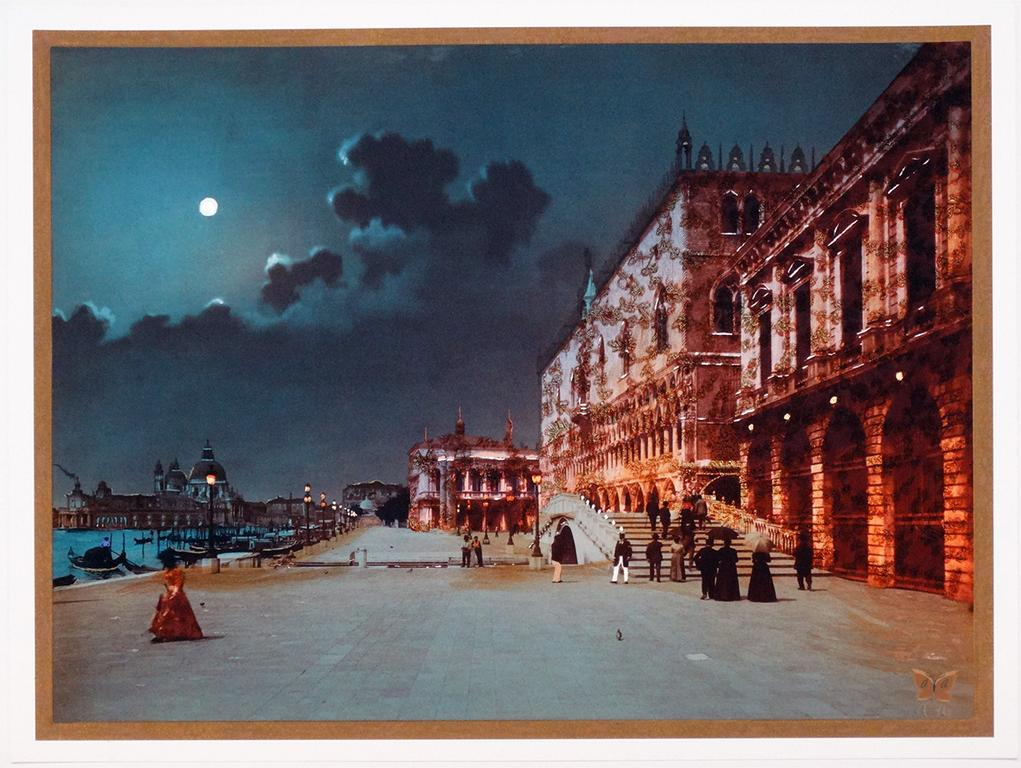 TITLE:  THE Adoration of Venice YEAR:2016   MEDIUM:  Pigment print    IMAGE SIZE: 32 3/8 x 27 1/2 IN