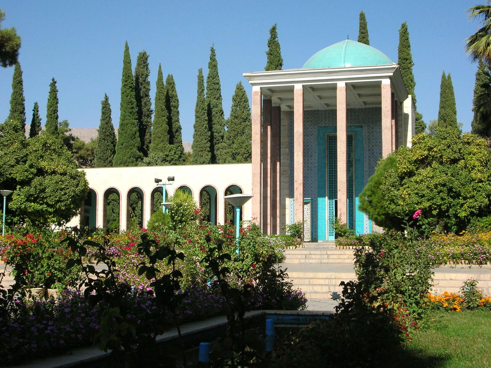 Tomb of Saadi (poet, 13th century), Shiraz