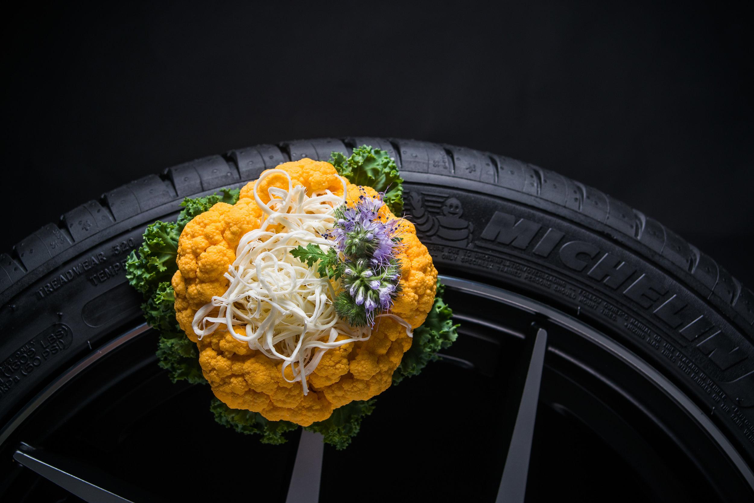 String Cheese in Cauliflower