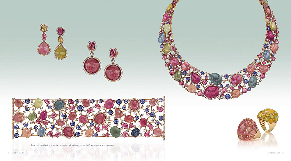 Cellini Jewelers Sapphire Collection Fall Catalog Tearsheet.jpg