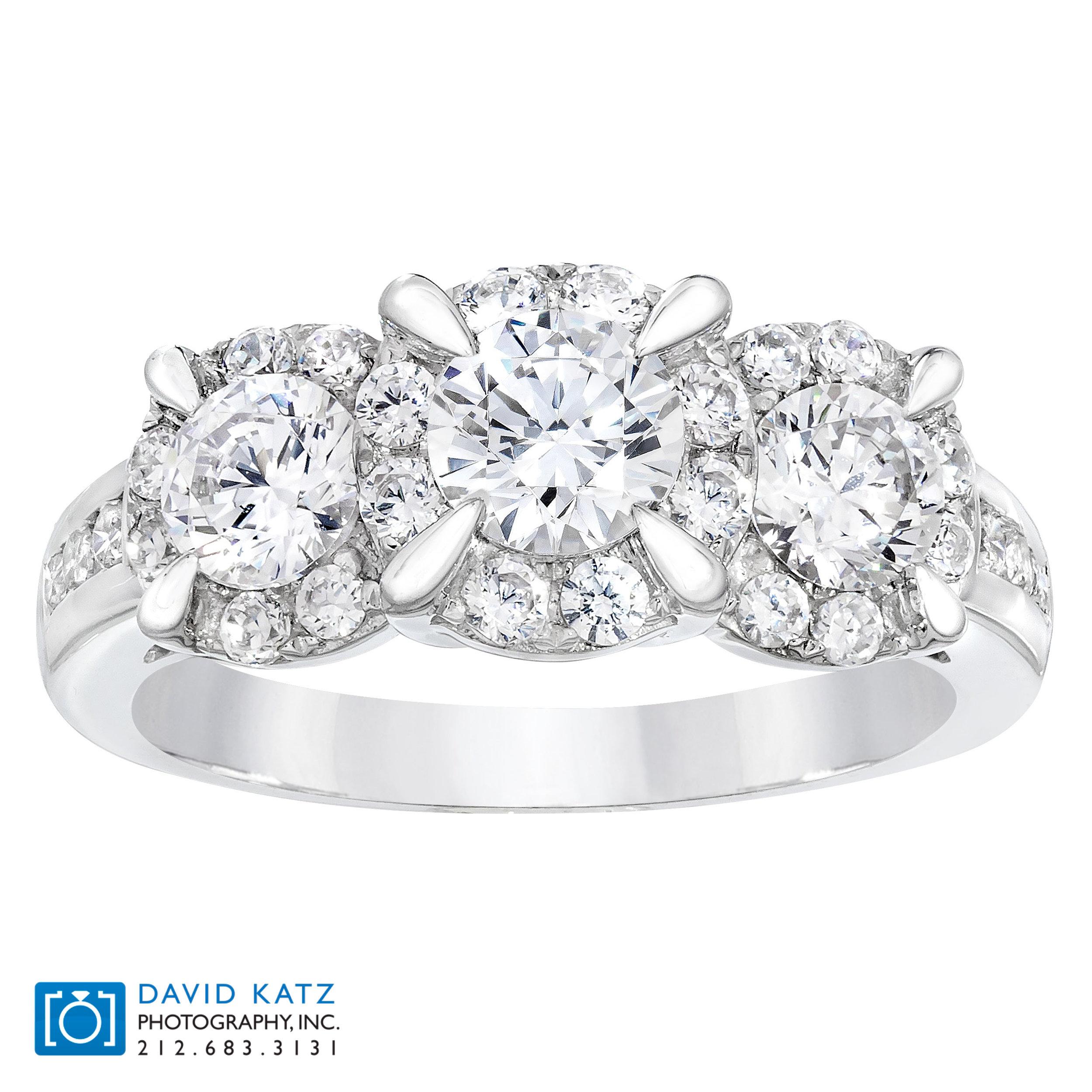 3 Stone Diamond Ring Standing.jpg