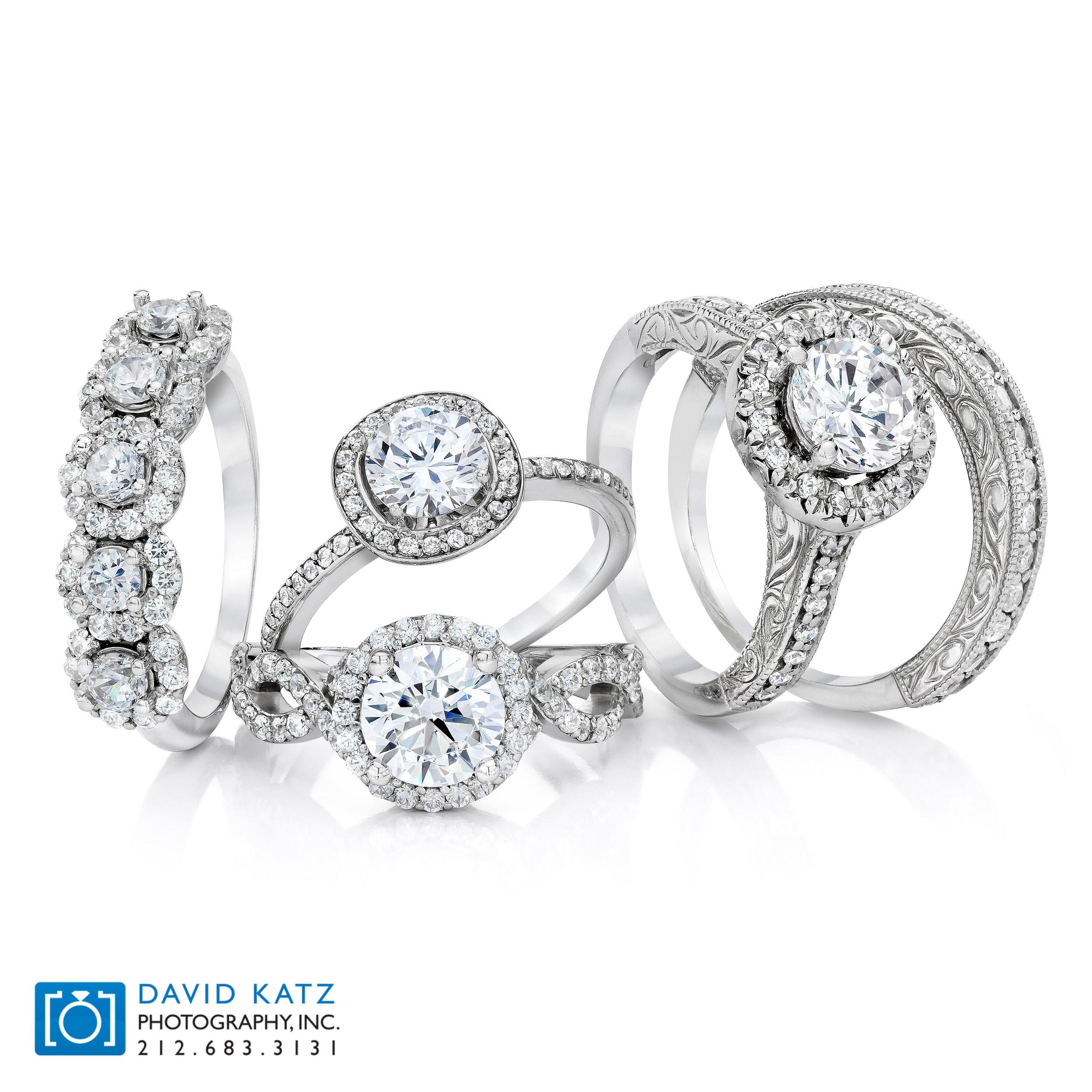 diamond ring group bridal stack
