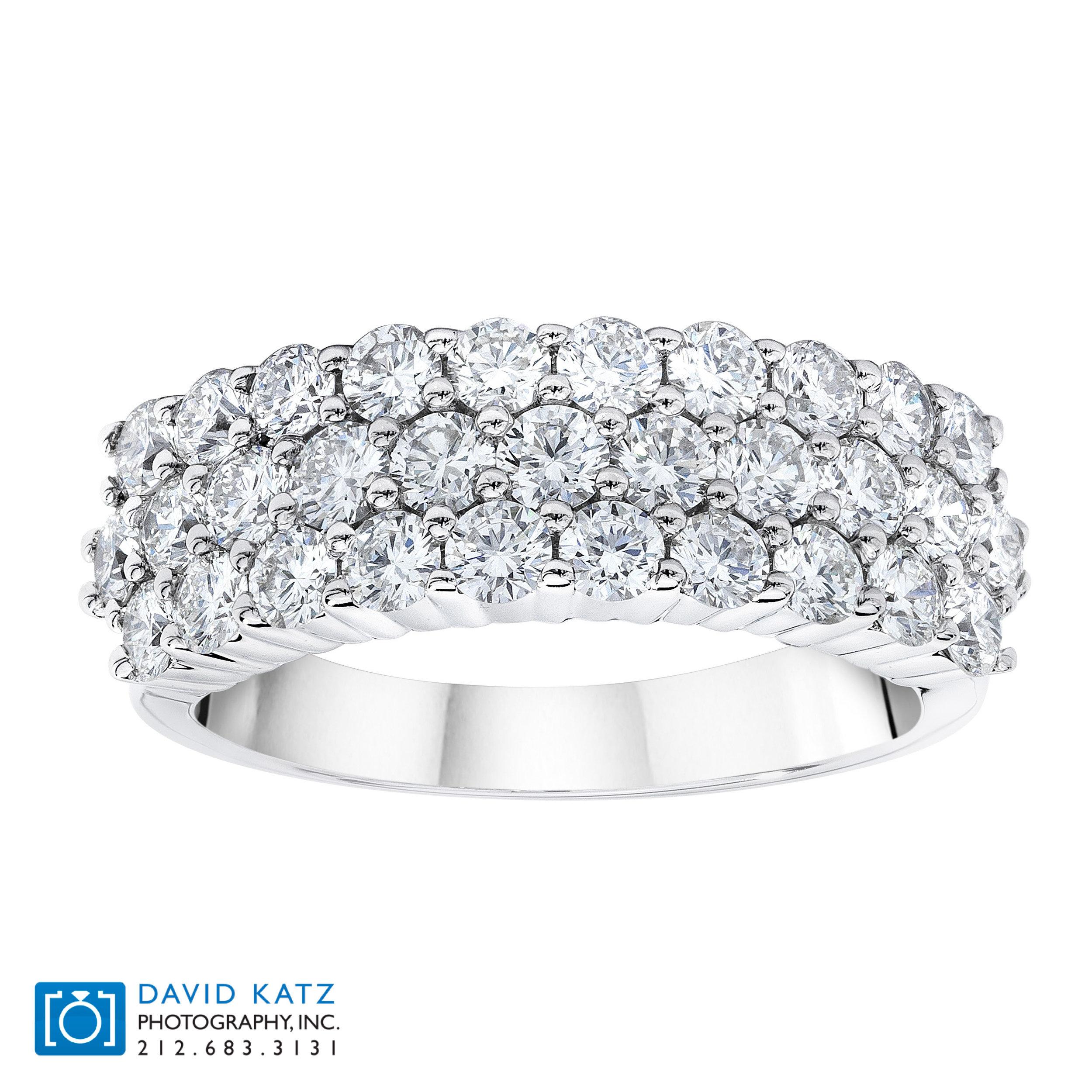 RG30746 3 Row Diamond Ring Standing.jpg