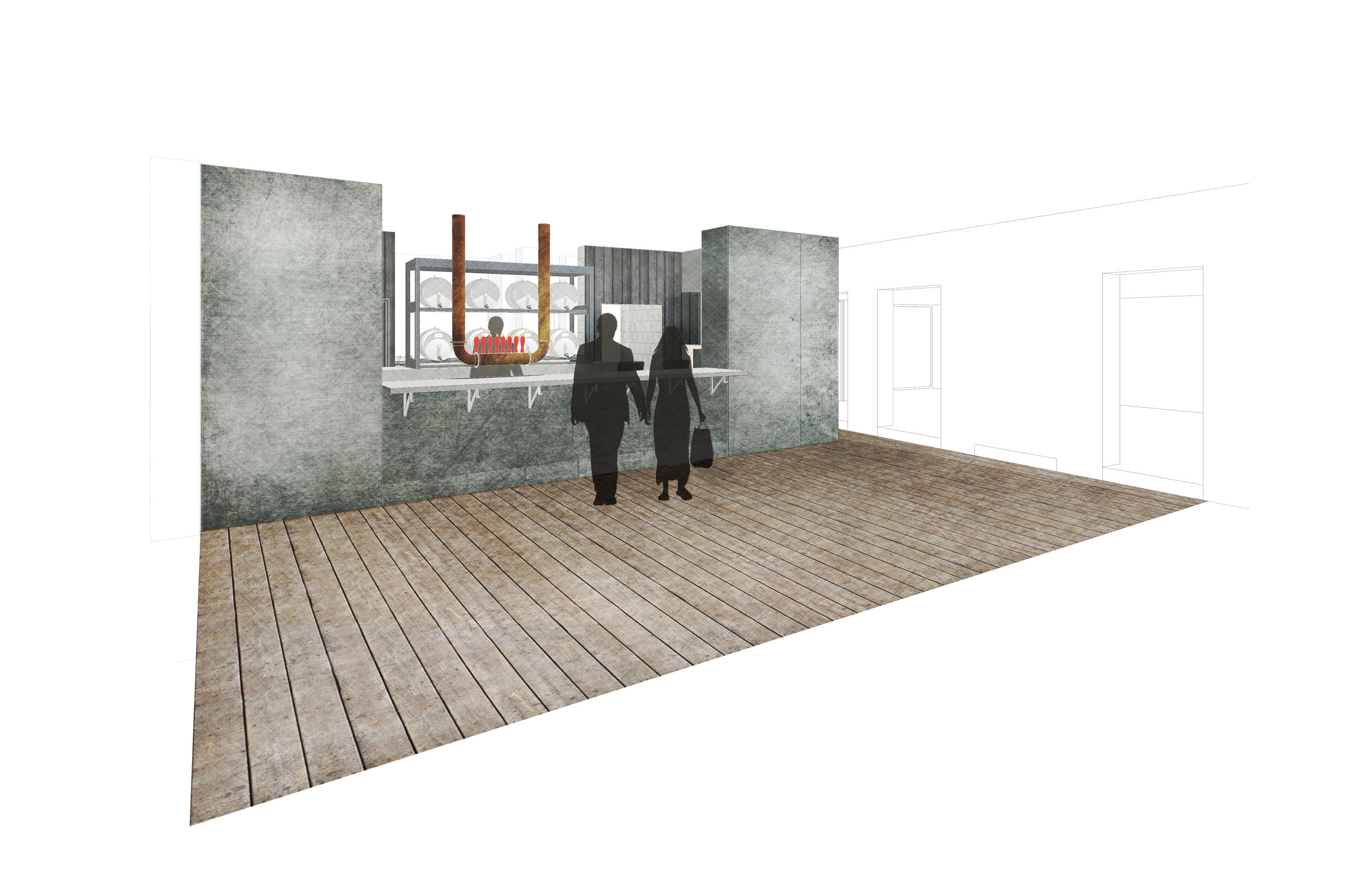 Concept Image of Steam Town Brew Co. Bar, Eastleigh, Hampshire