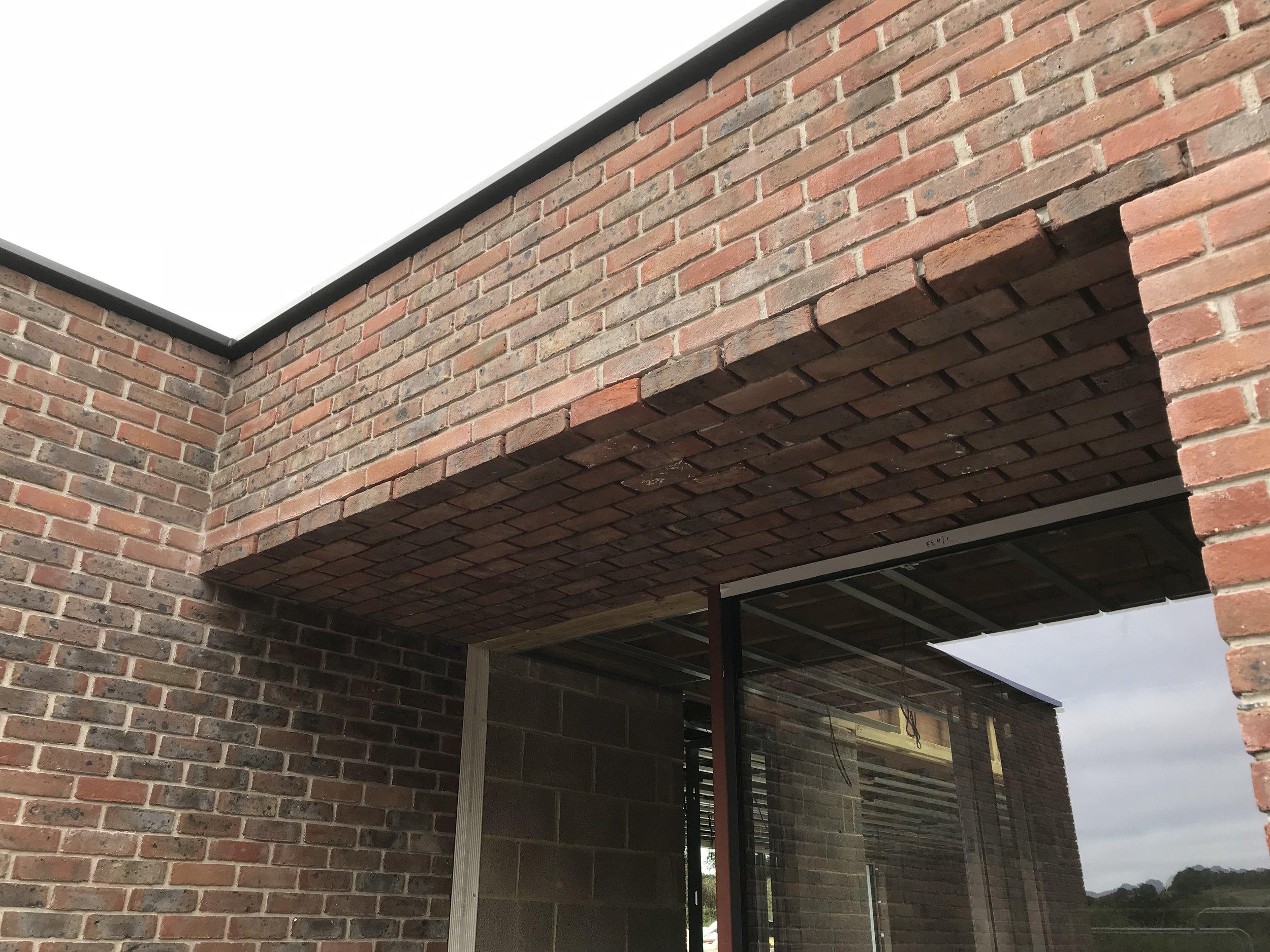 Herdsman's Cottage, Upham, Winchester, Brick Soffit