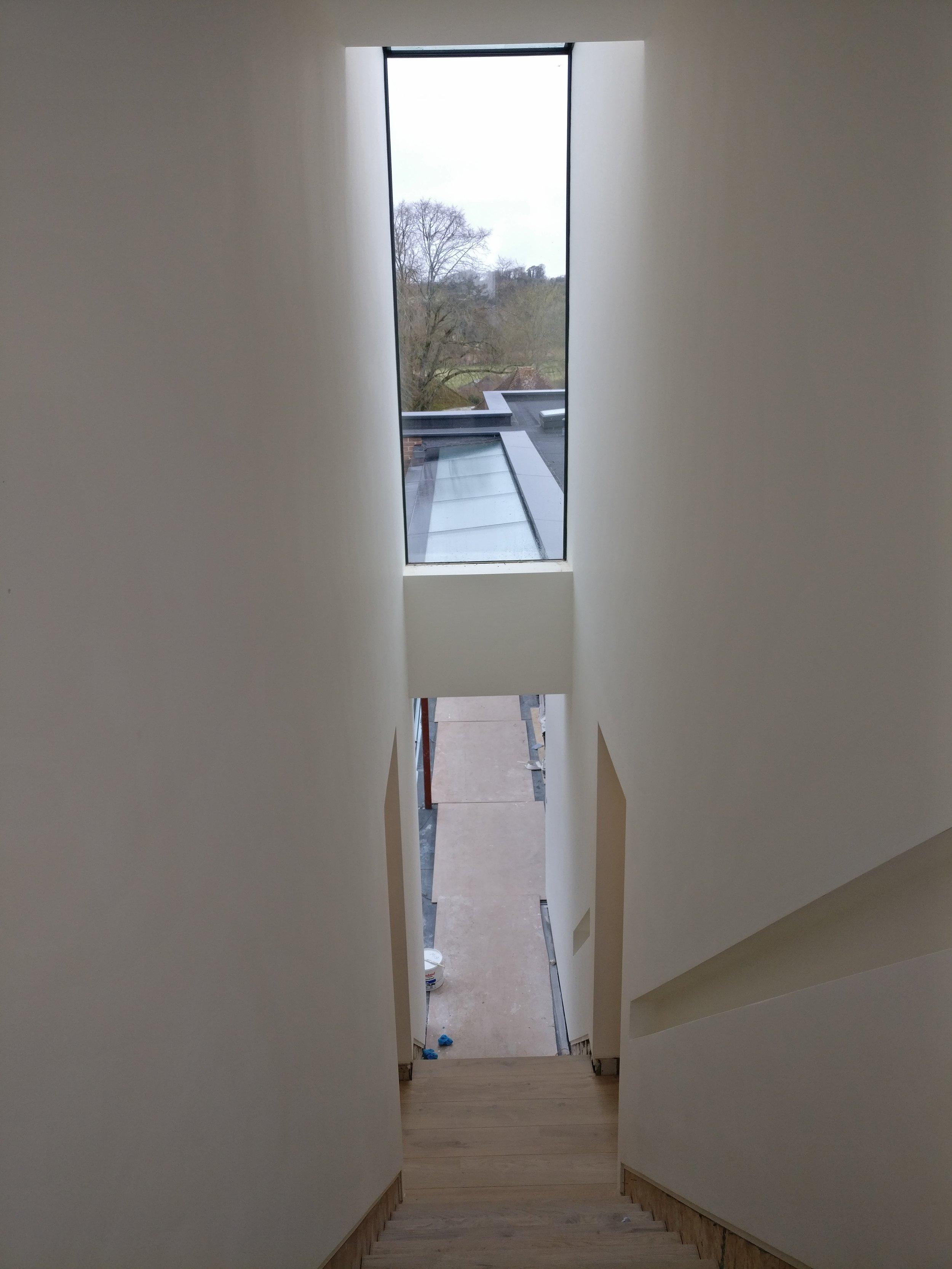 Paul Cashin Architects / Woodcote House, Upham, Near Winchester, Hampshire Progressing on Site