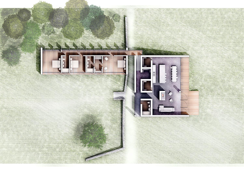 Paul Cashin Architects / Thorns Ha-Ha, New Forest, Hampshire