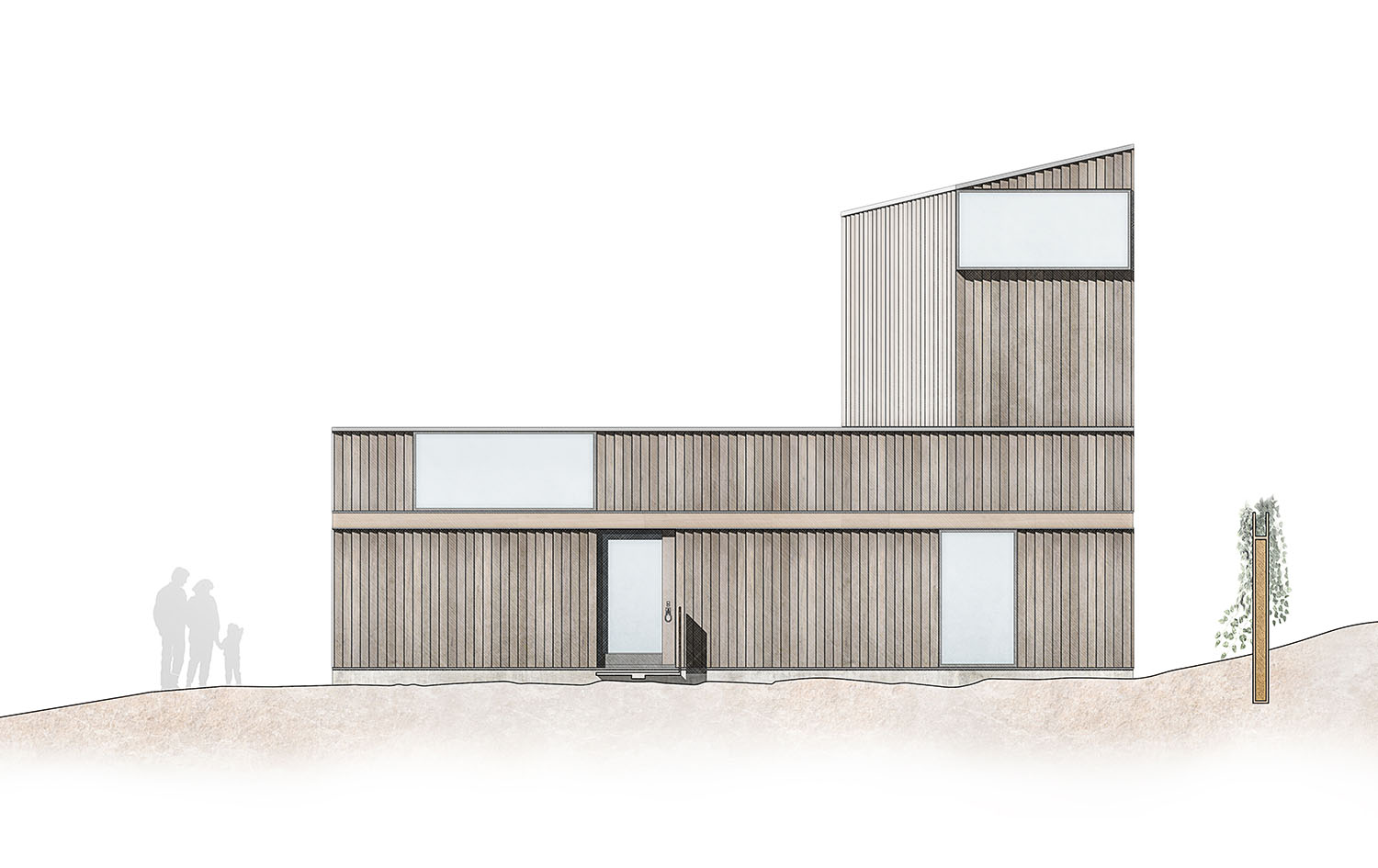 Paul Cashin Architects / House on the Shore, Normandy, France