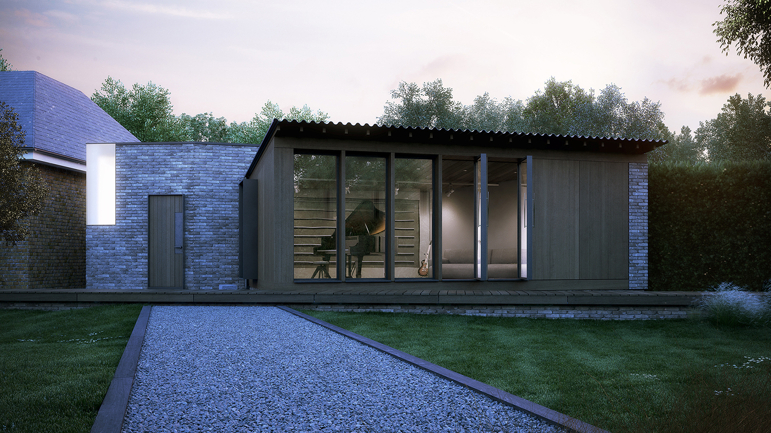 Paul Cashin Architects / Chase Home Studio, Hampshire