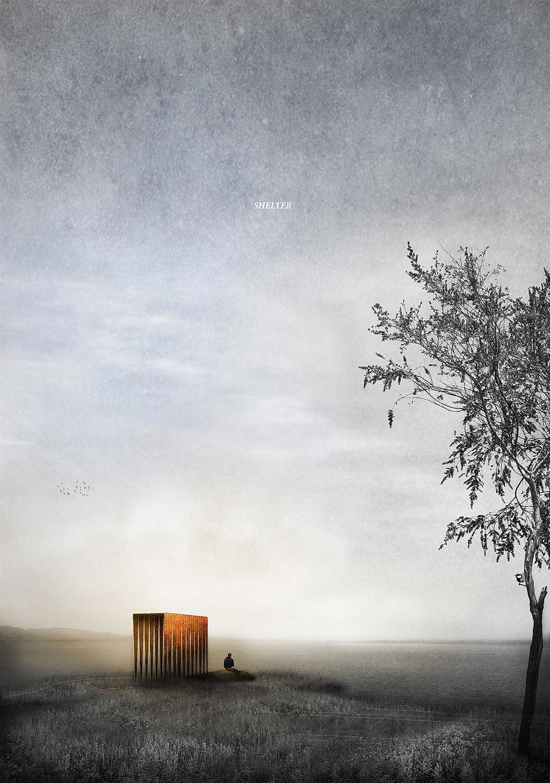 Paul Cashin Architects / Yeats Competition, Isle of Innisfree, Ireland