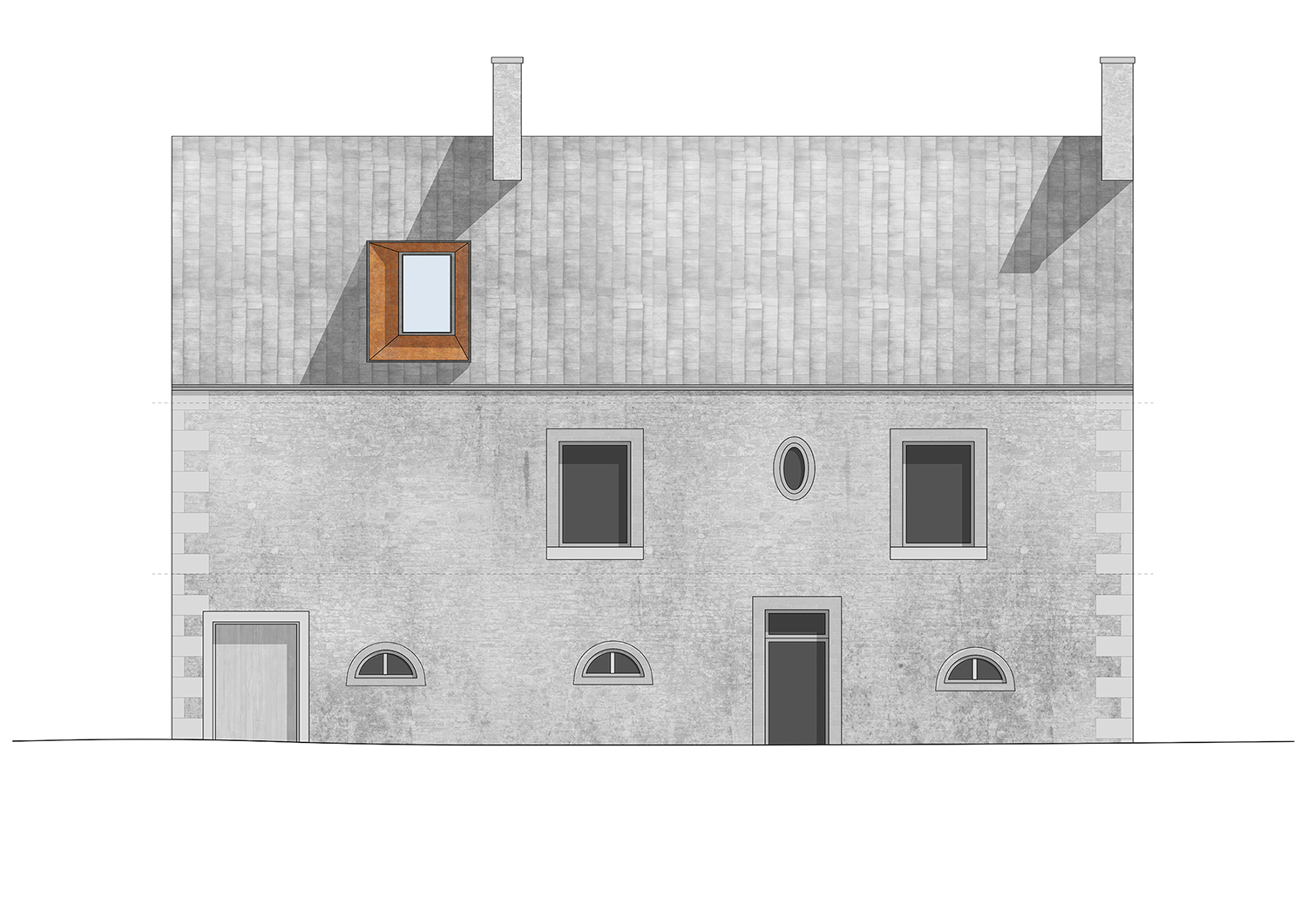 Paul Cashin Architects / La Forge House, Normandy, France