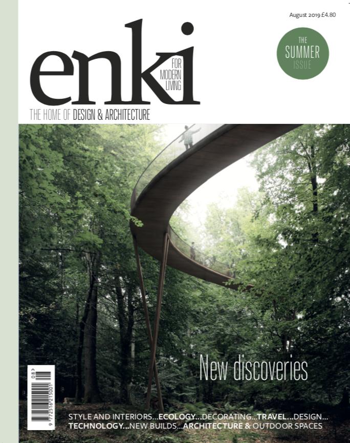Paul Cashin Architects in Aug 19 Enki Magazine