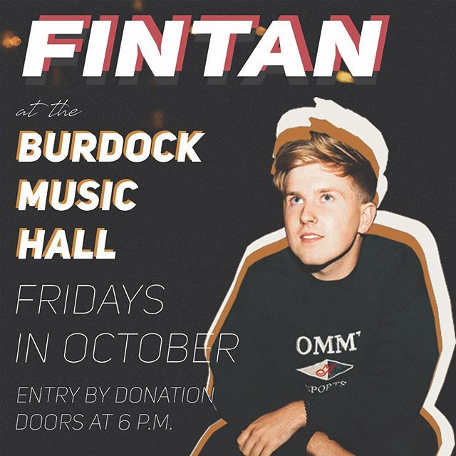 so excited😭first Burdock show is this Friday!!! come hang im lonely in Toronto.