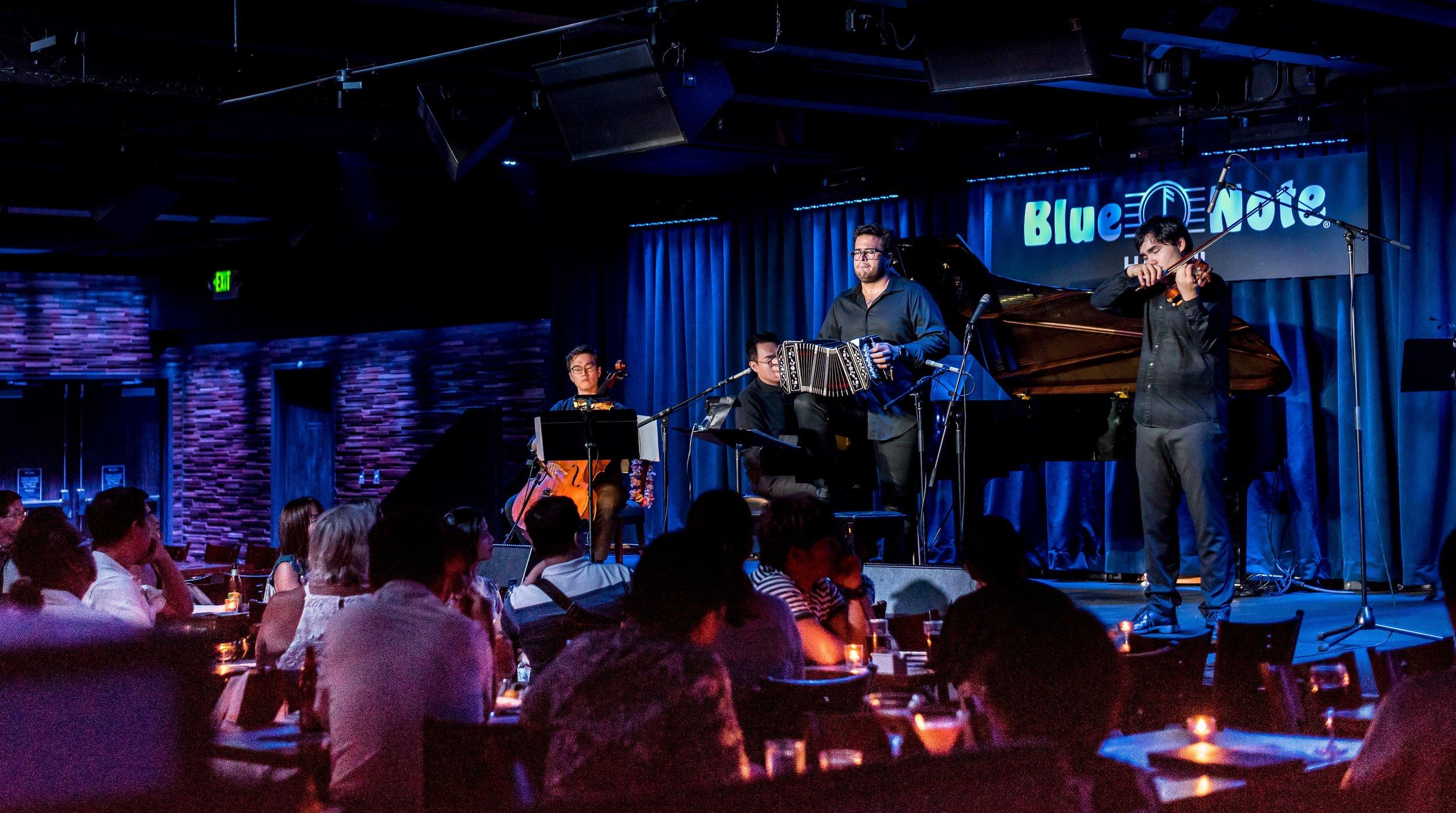 Season Opener JP Jofre Nuevo Tango Quartet co-presented with Blue Note Hawaii