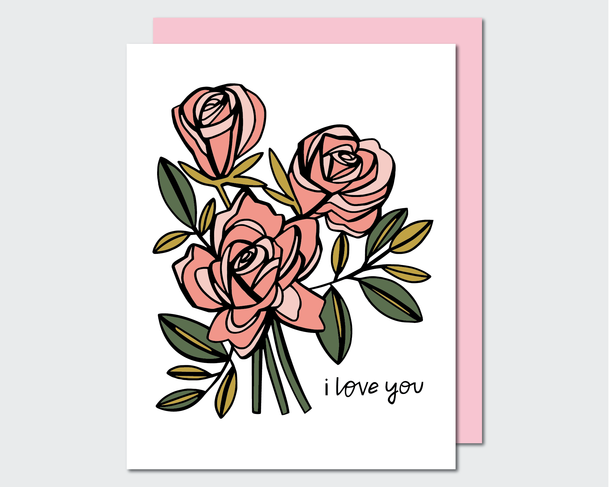 GCL009 (PINK ROSES)