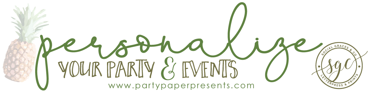 party paper presents