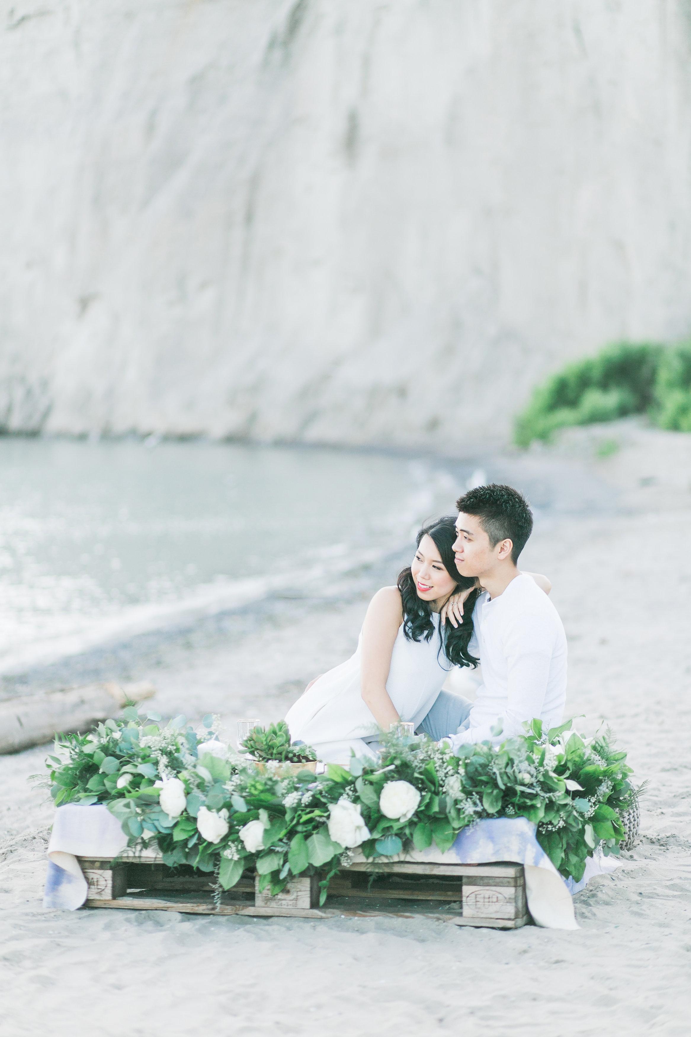 Phoebe Lo Events Toronto Wedding - Scarbourough Bluffs Bohemian Beach Engagement 015.jpg