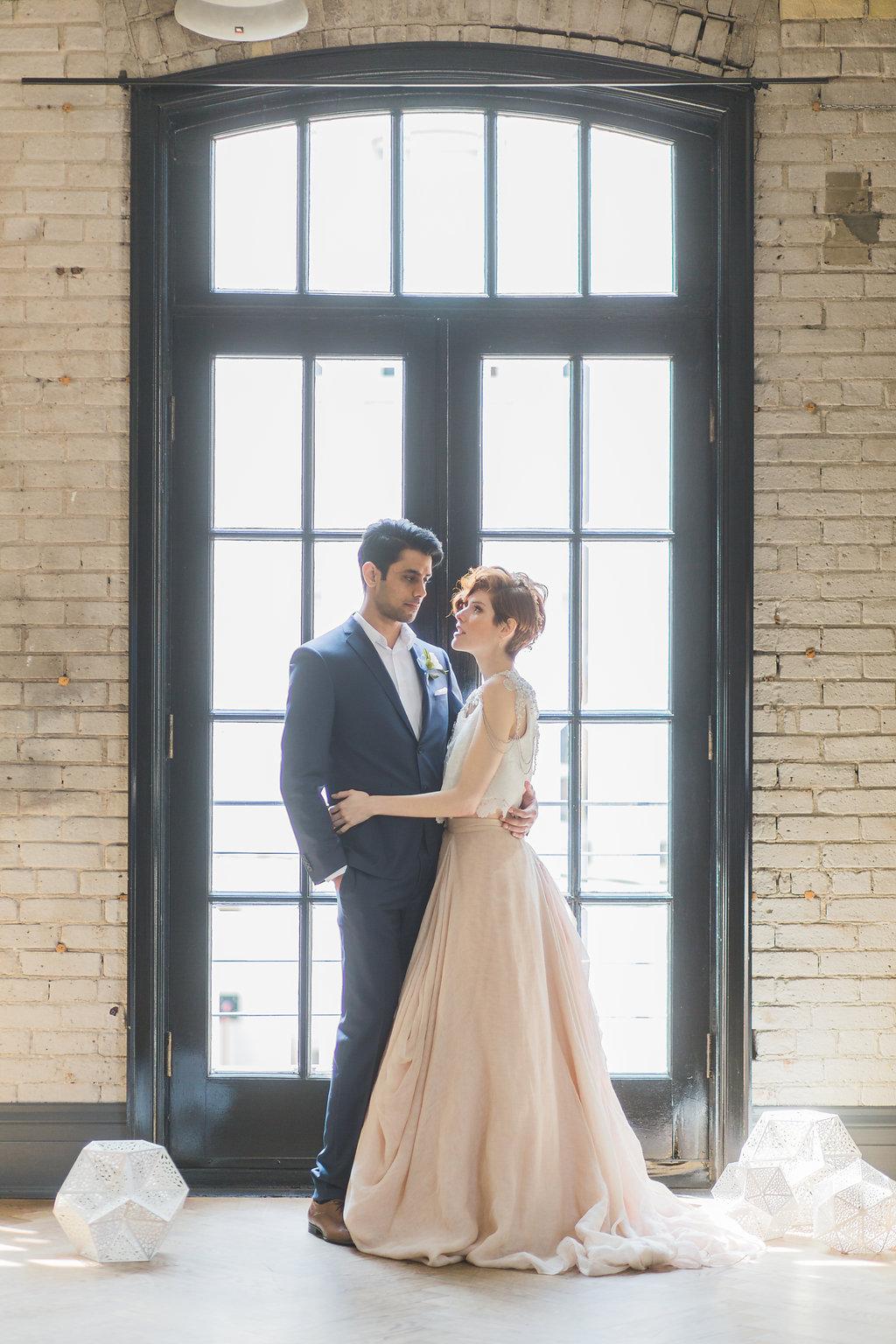 Phoebe Lo Events Toronto Wedding - Storys Building Urban Loft Paper Inspired Wedding 015.jpg