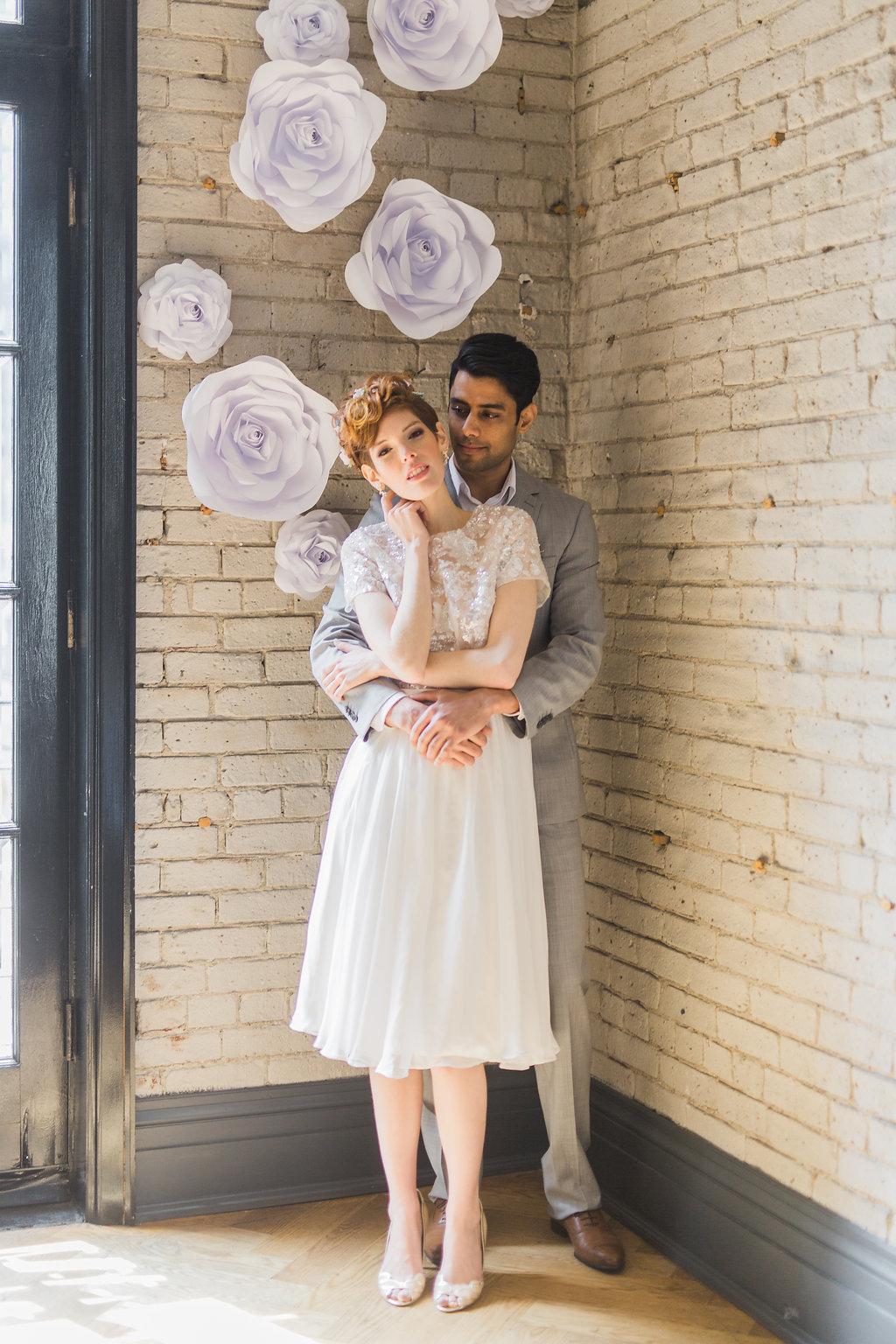 Phoebe Lo Events Toronto Wedding - Storys Building Urban Loft Paper Inspired Wedding 027.jpg