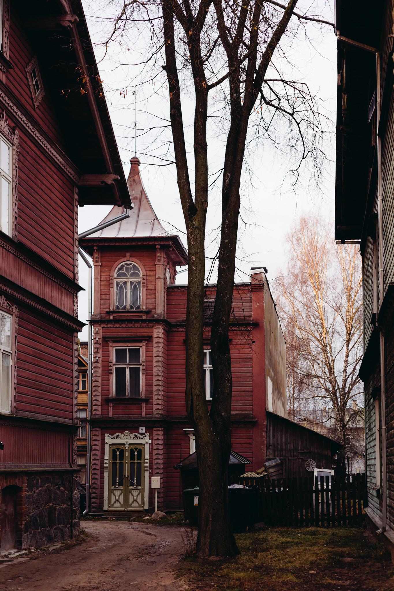 Tartu, Estonia. November 2014.    Perhaps beauty is a bit too obvious here.