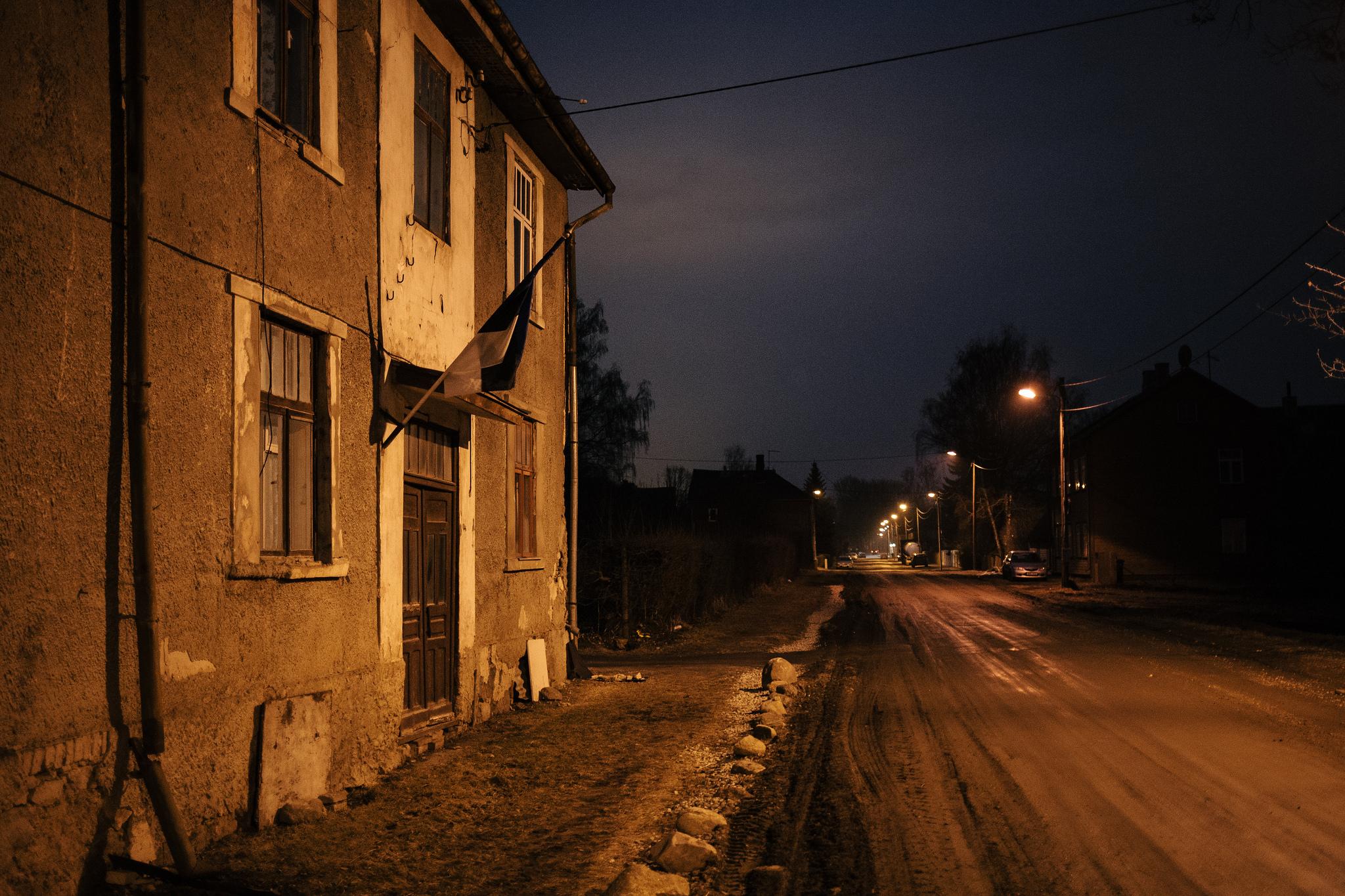 Ülejõe, Tartu, Estonia. March 2014.